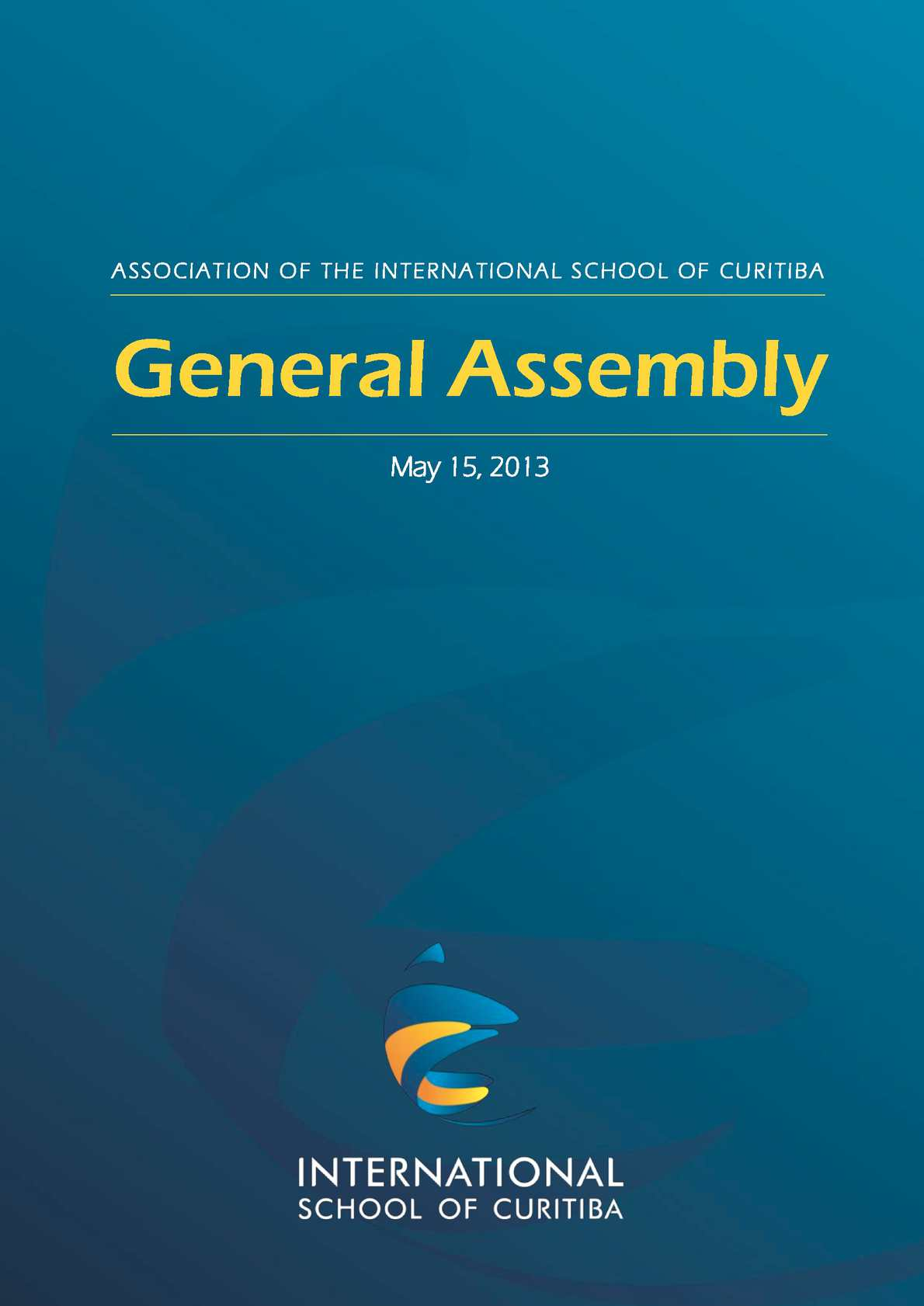 Calamo isc annual report for may 2013 general assembly fandeluxe Images