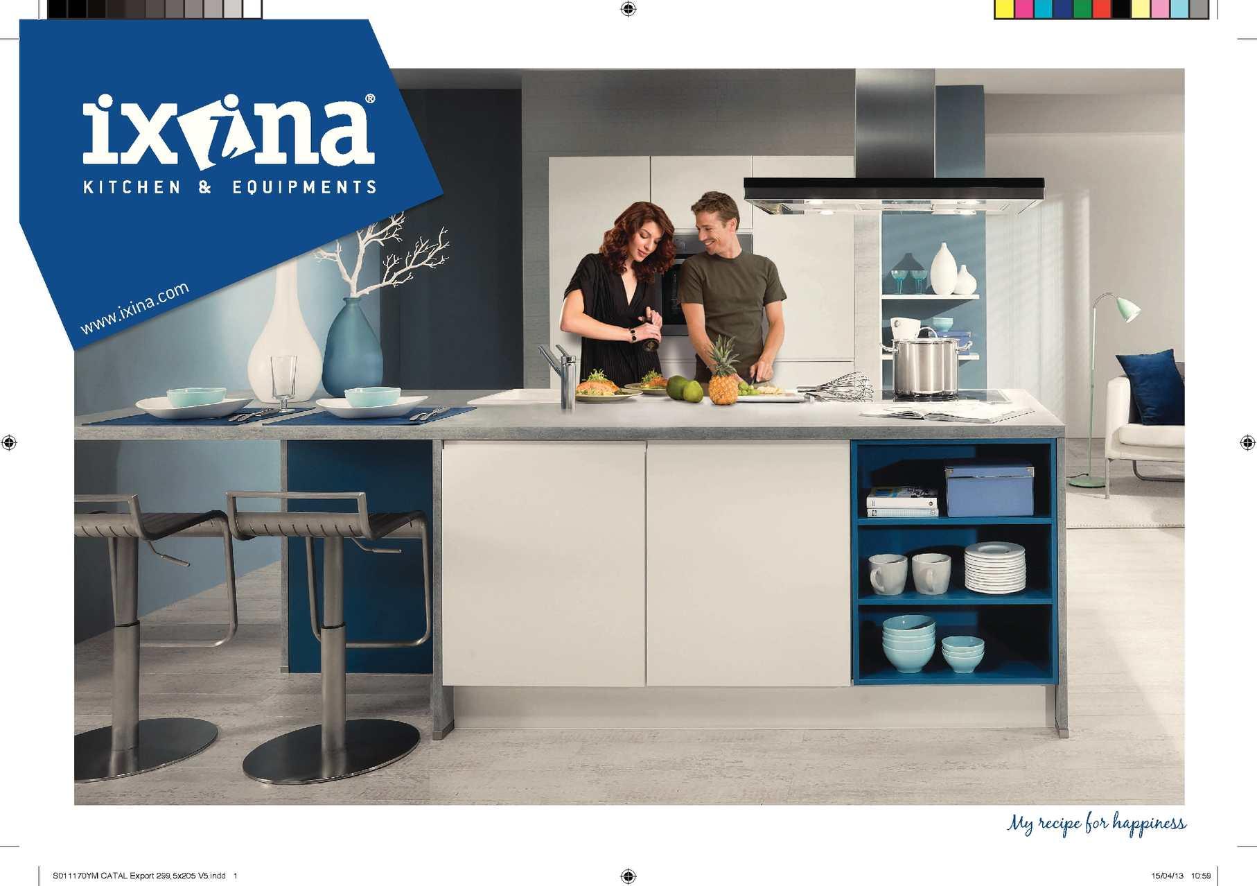 Calam o catalog ixina en - Cuisines ixina catalogue ...