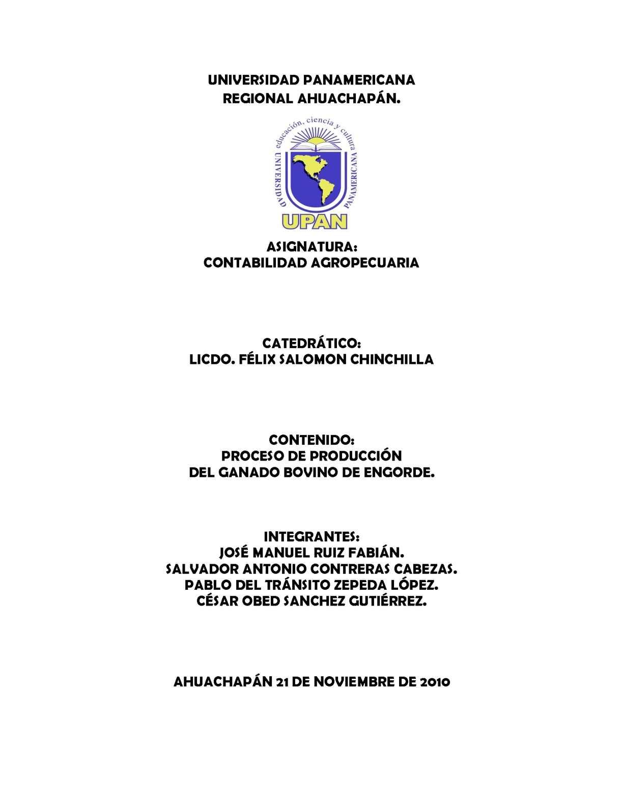 Calaméo - PROCESO DE PRODUCCIÓN DEL GANADO BOVINO DE ENGORDE