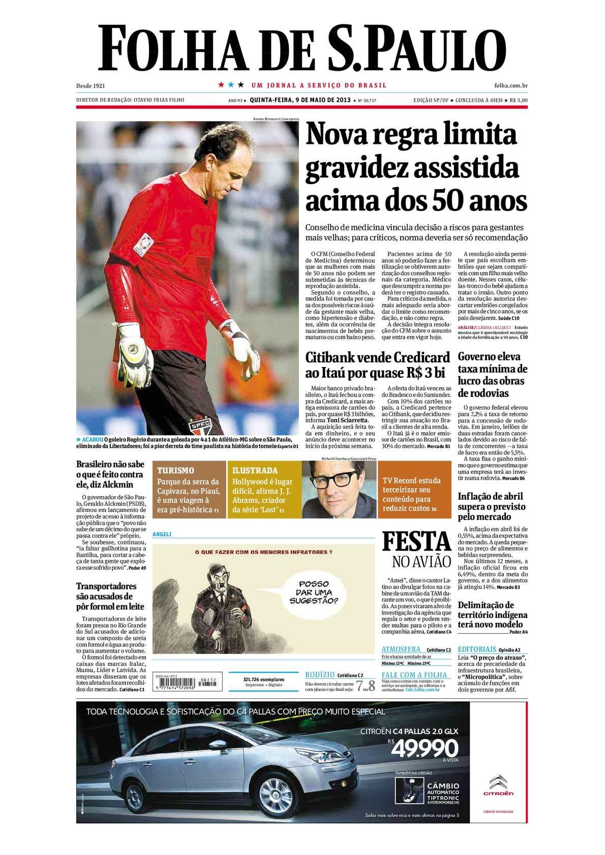 calaméo folha de são paulo 09 05 201396923 Curso De Nutricao Em Recife #17