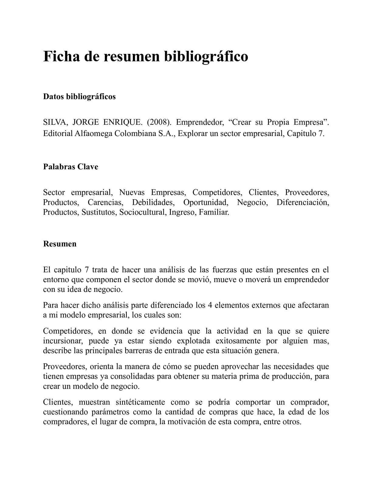Calaméo - Ficha de resumen bibliográfico del libro Emprendedor cap 7 ...
