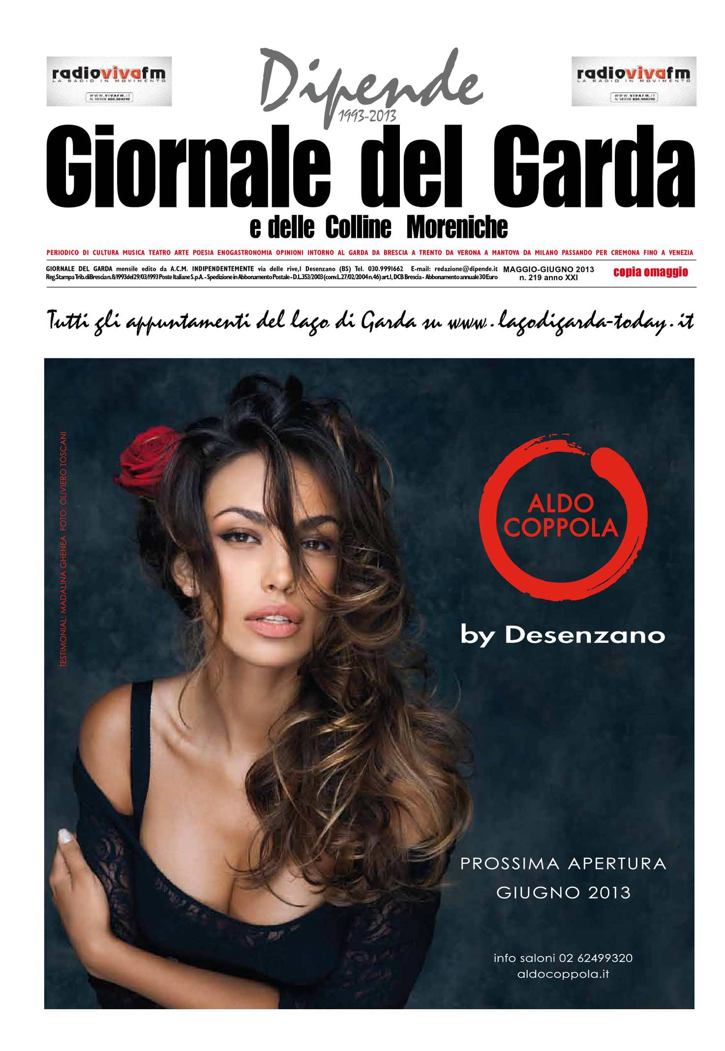 Calaméo - Dipende Giornale del Garda n. 219 maggio-giugno 2013 5702a6d2950