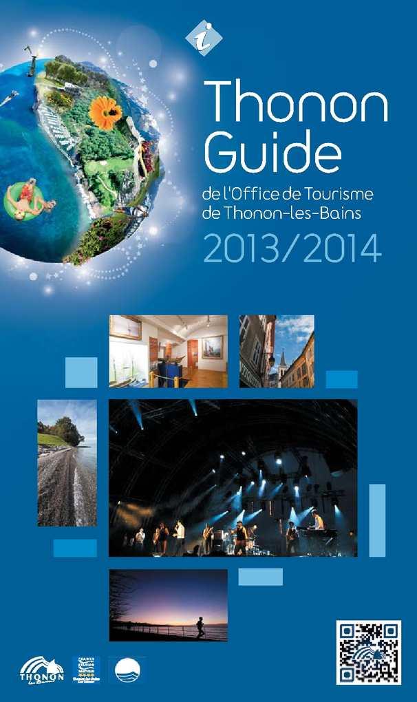 Calam o thonon guide 2013 2014 - Office du tourisme de thonon les bains ...