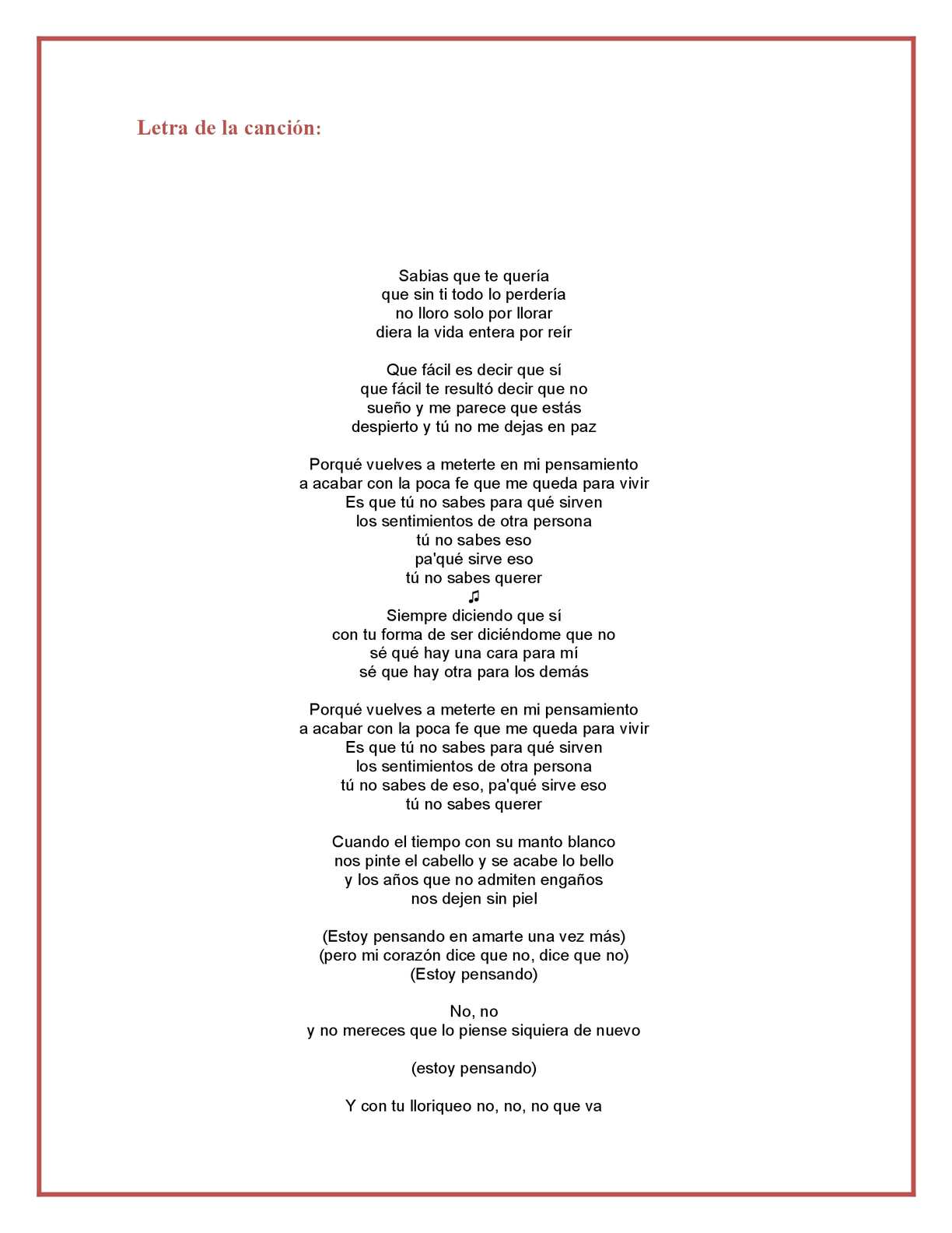 Letra de la cancion de desnuda picture 34