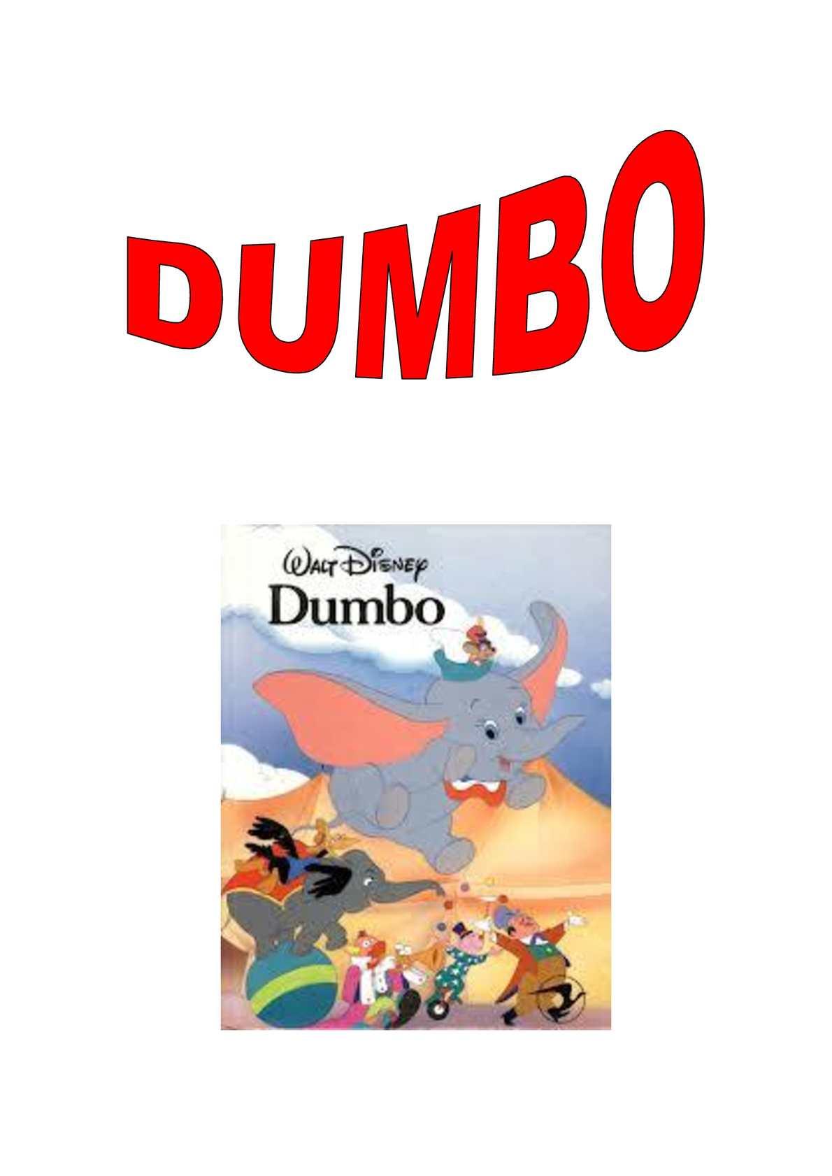 Conte d'en Dumbo amb pictogrames per llegir