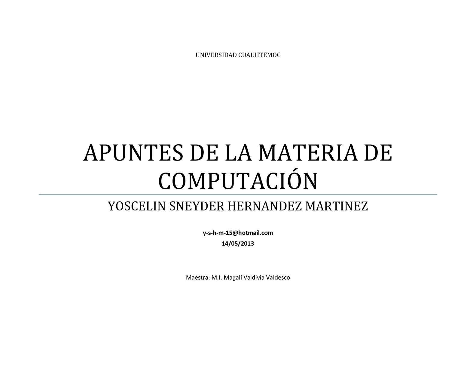 practicas de la materia de informática 1
