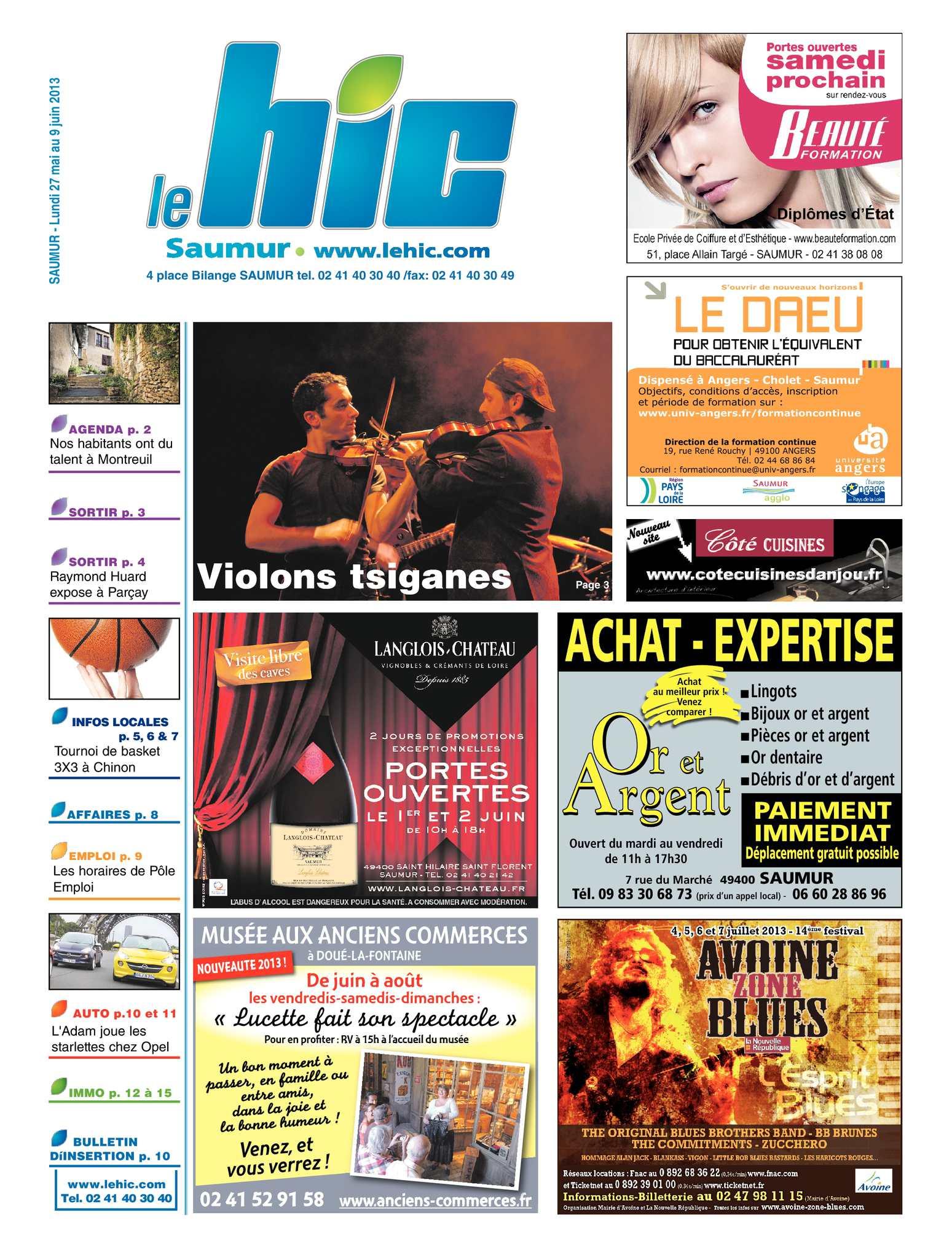 Calaméo Saumur 27 mai