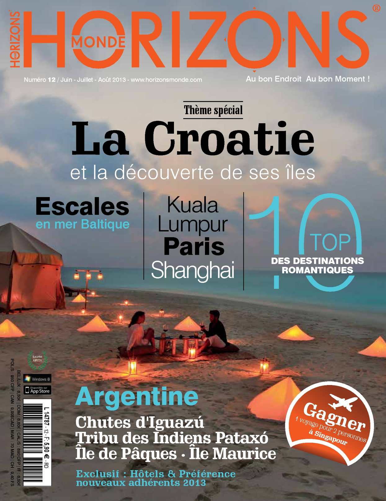HORIZONS MONDE N°12 été 2013