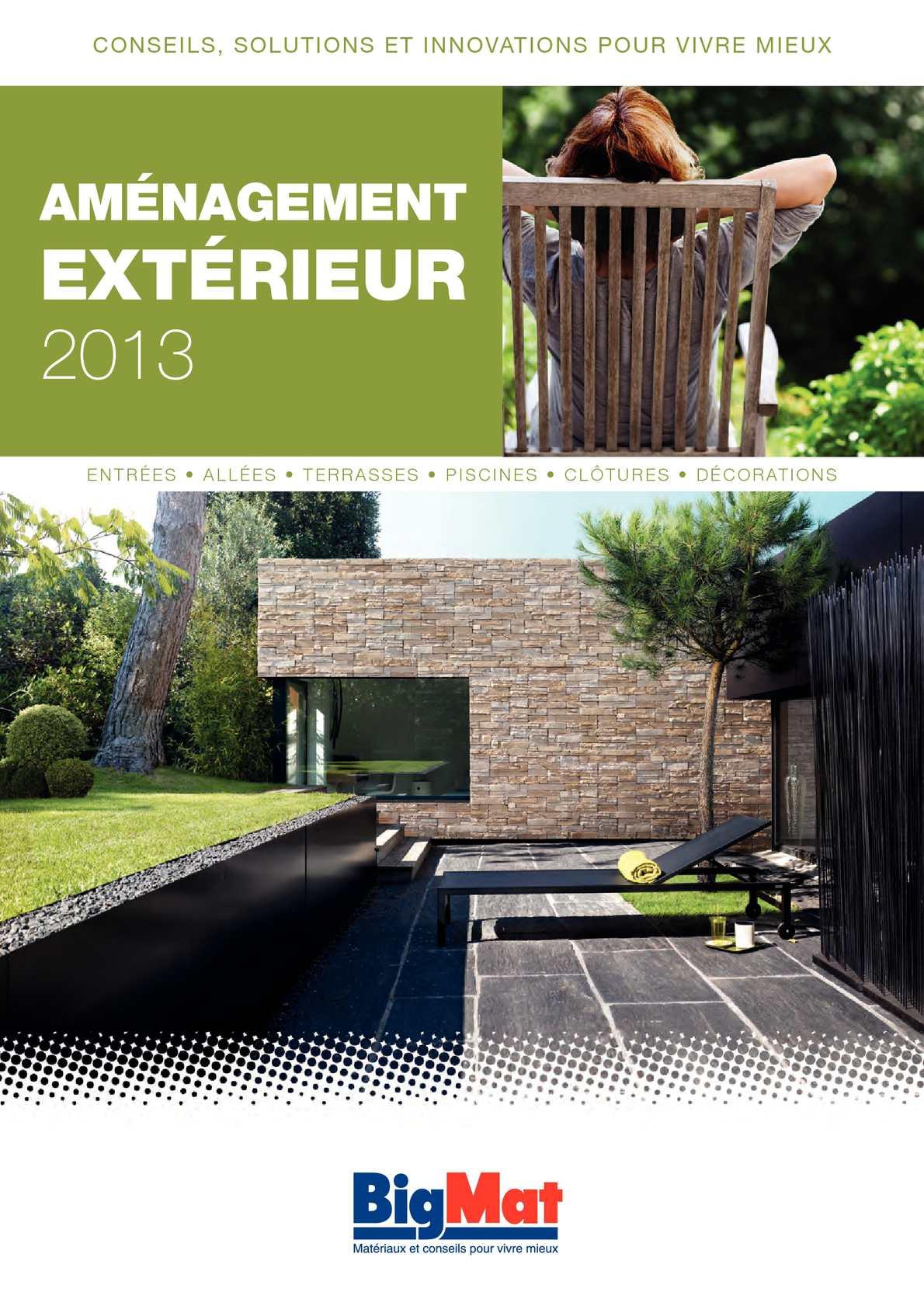 Bigmat Catalogue Salle De Bain ~ matriaux pour terrasse extrieure voici astuces pour rendre cet