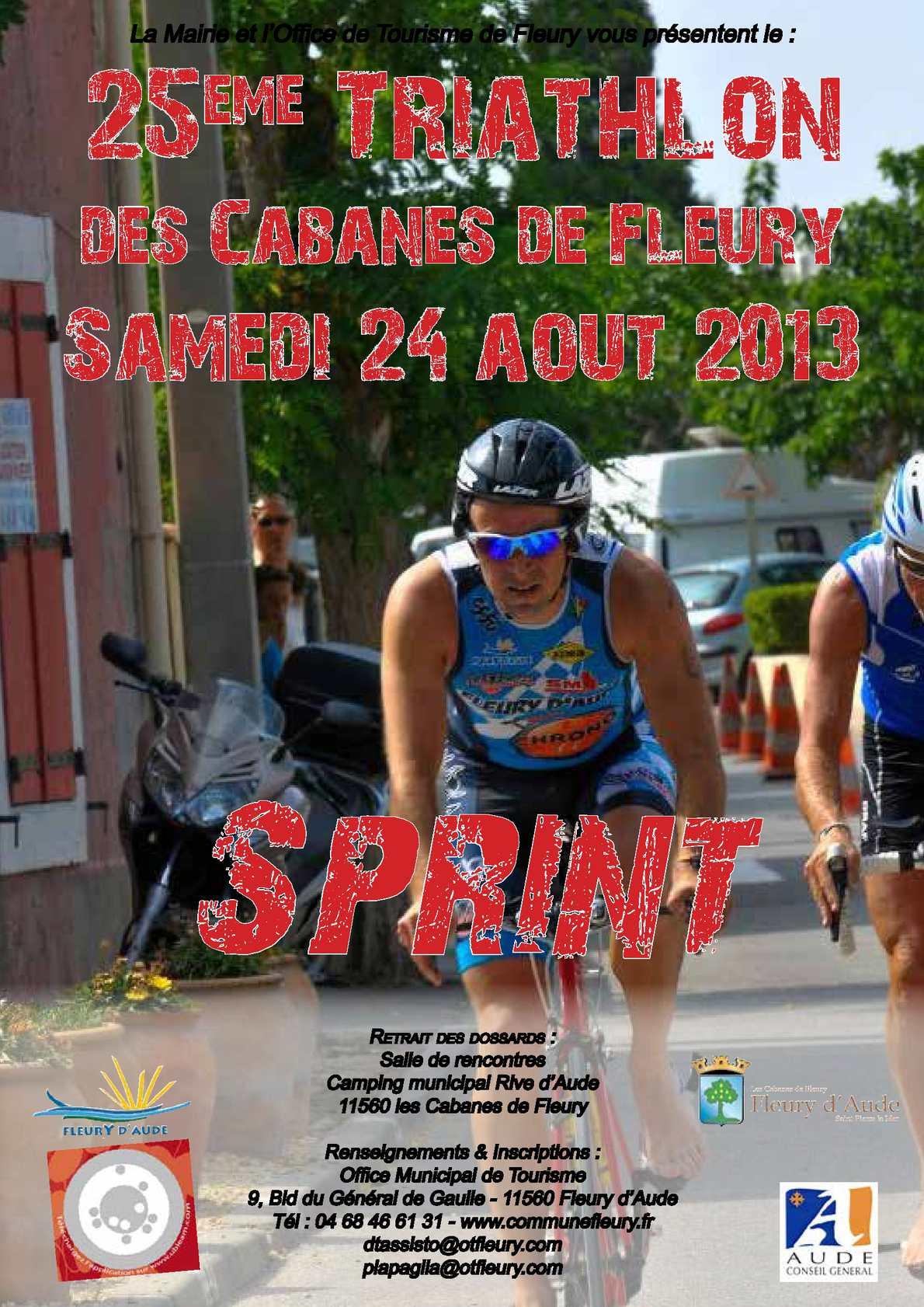 Calam o triathlon des cabanes de fleury 2013 bulletin d 39 inscription - Office tourisme fleury d aude ...