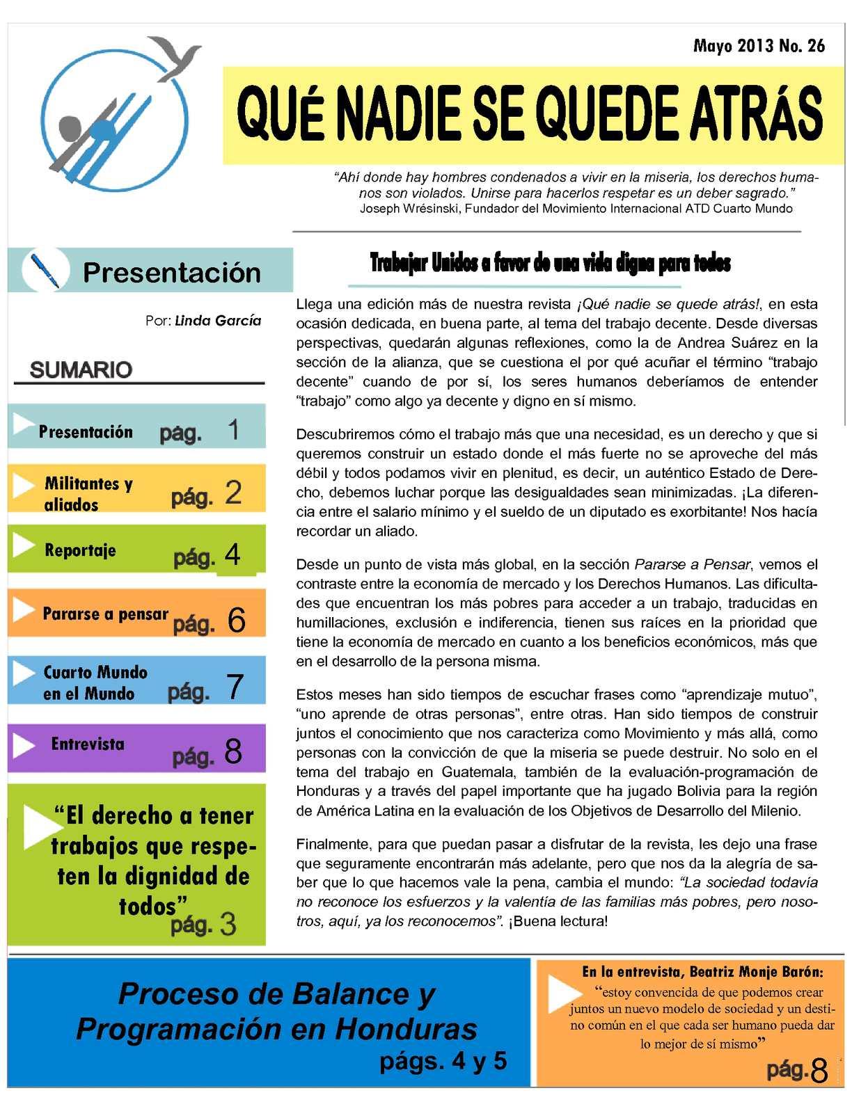 Calaméo - Revista QNSQA mayo