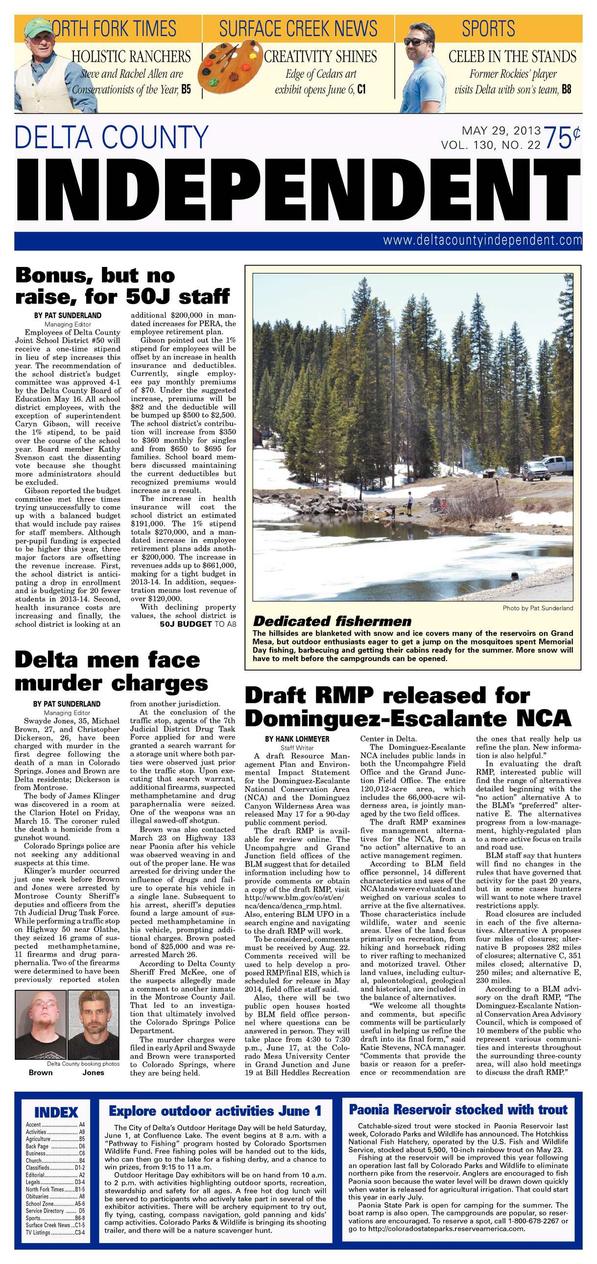 Calamo Delta County Independent May 29 2013 Everbank Wiring Instructions