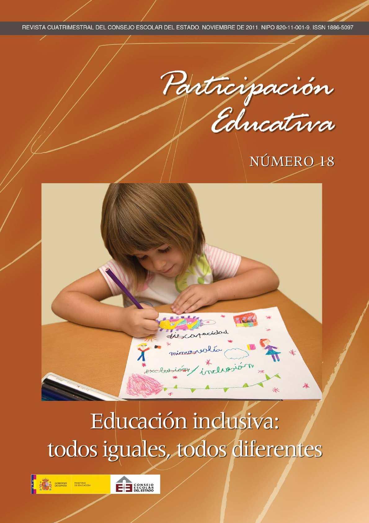 Calaméo - Educación inclusiva:todos igualres, todos diferentes.