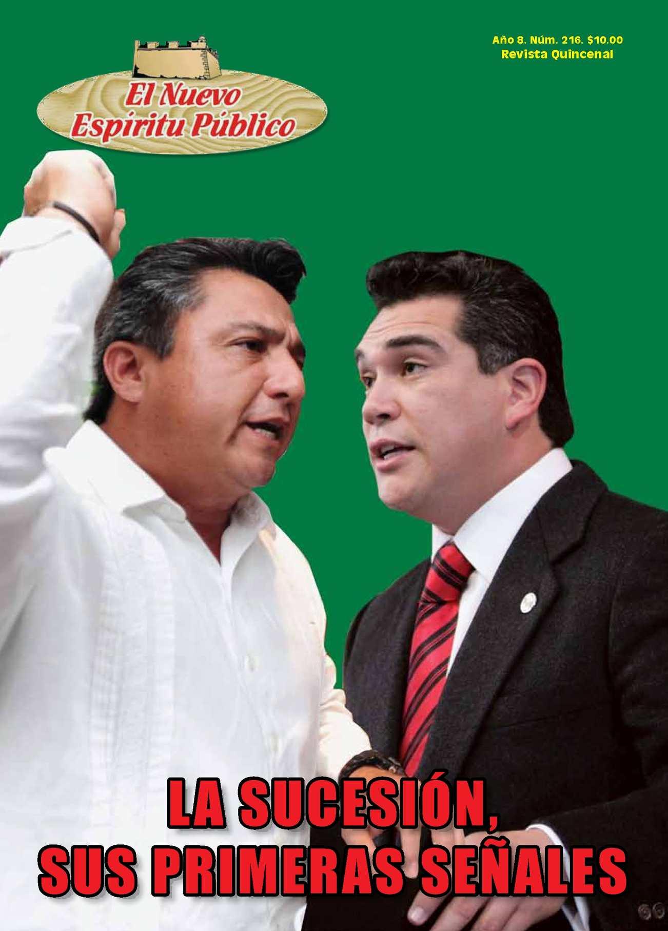 REVISTA EL NUEVO ESPÍRITU PÚBLICO No.216