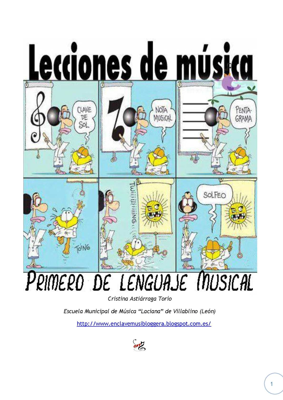 Apuntes 1º Lenguaje Musical by Cristina Astiárraga