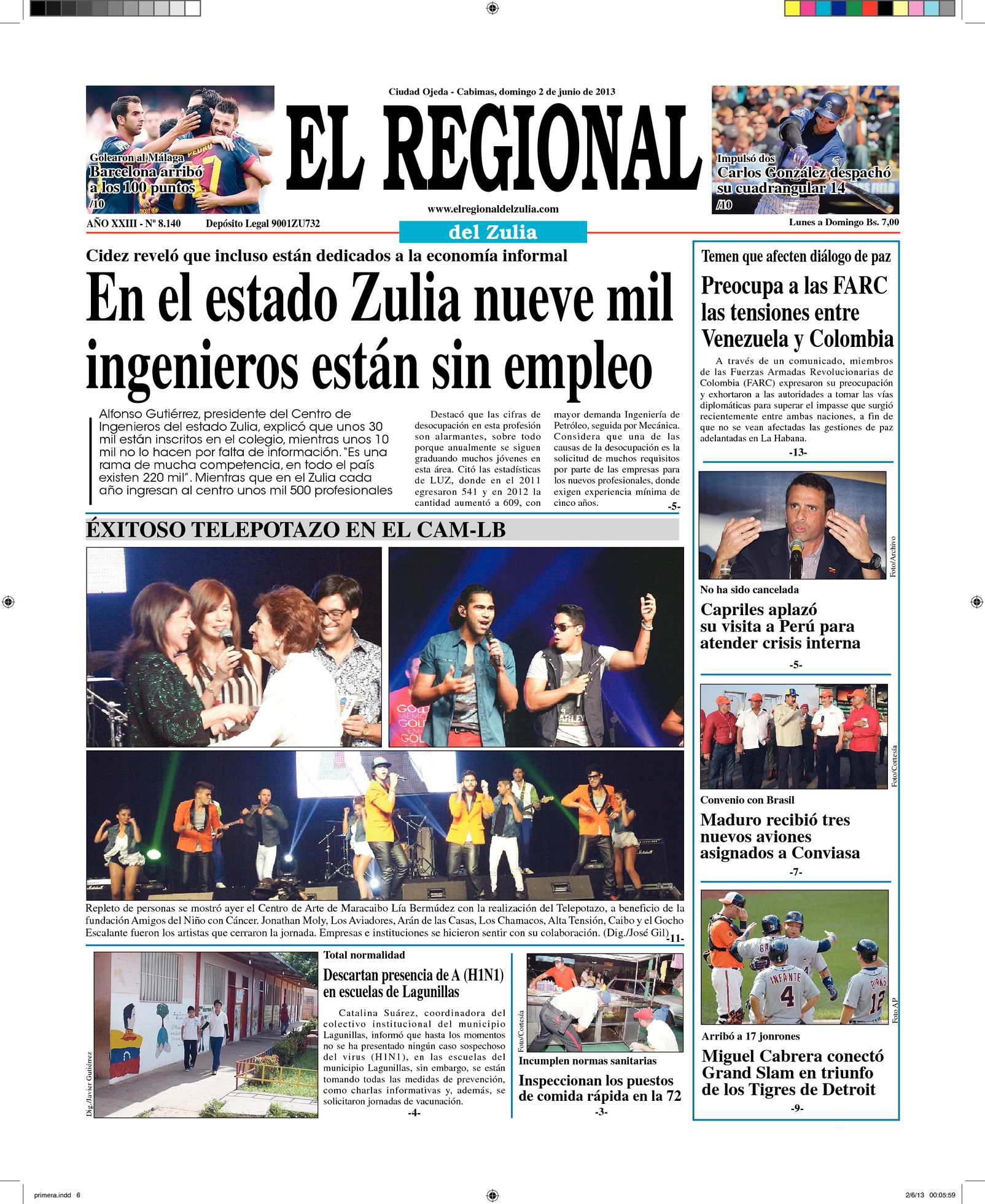 Calaméo - El Regional del Zulia 02-06-2013
