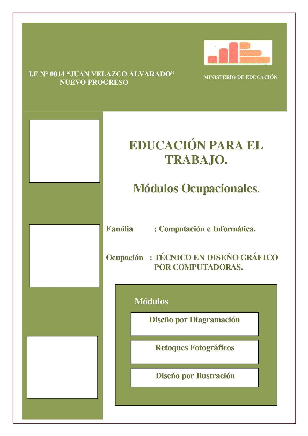 Modulo Ocupacional Diseño Grafico Asistido por Pc