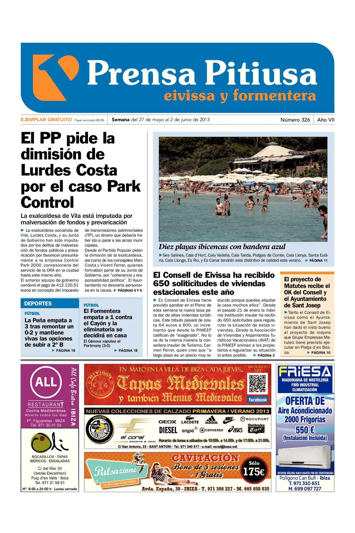 Calaméo - Prensa Pitiusa edición 326