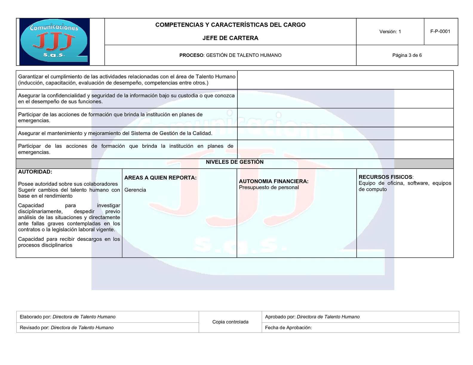 Único Ejemplo De Reanudar Manager De Comunicaciones Molde - Ejemplo ...