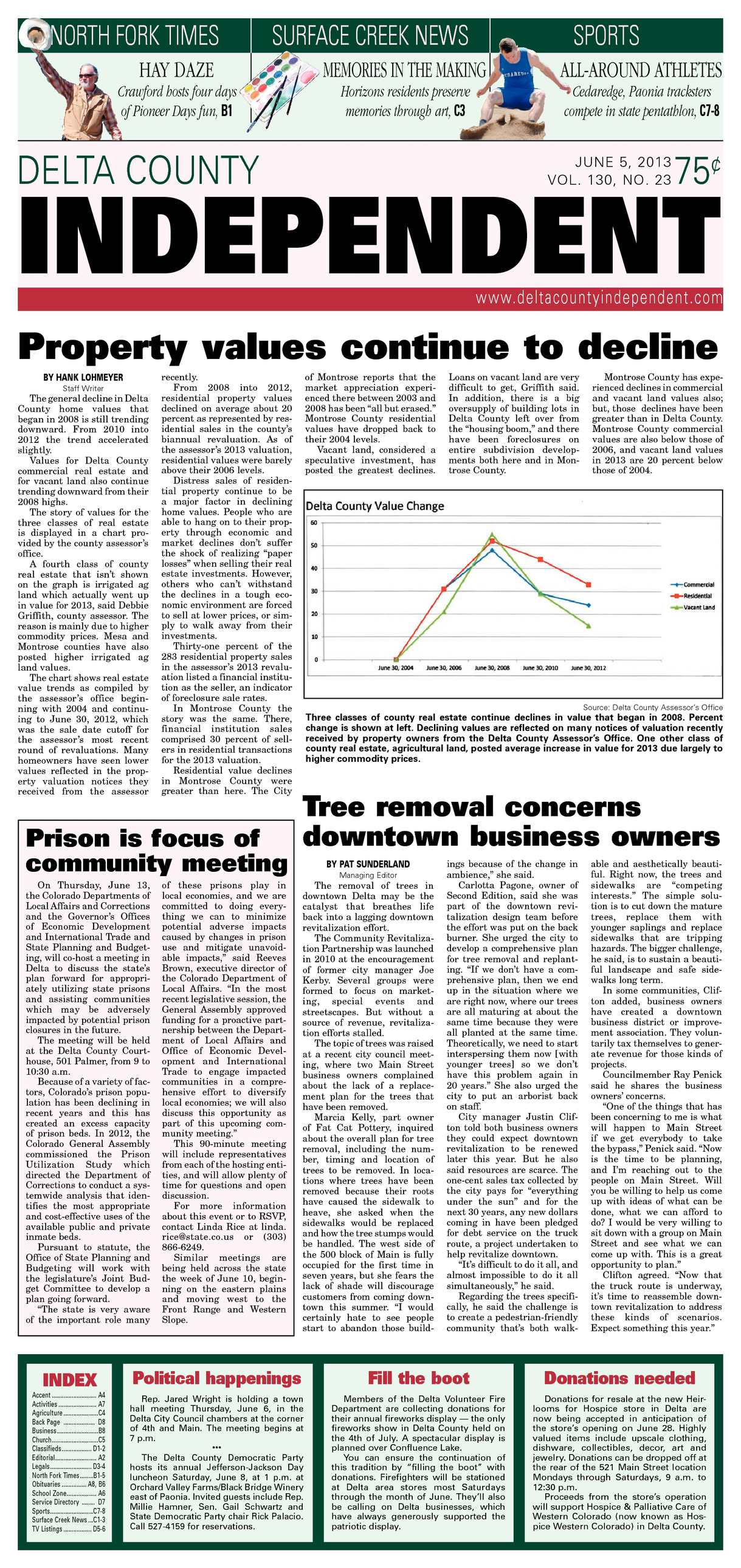 Calamo Delta County Independent June 5 2013 Everbank Wiring Instructions