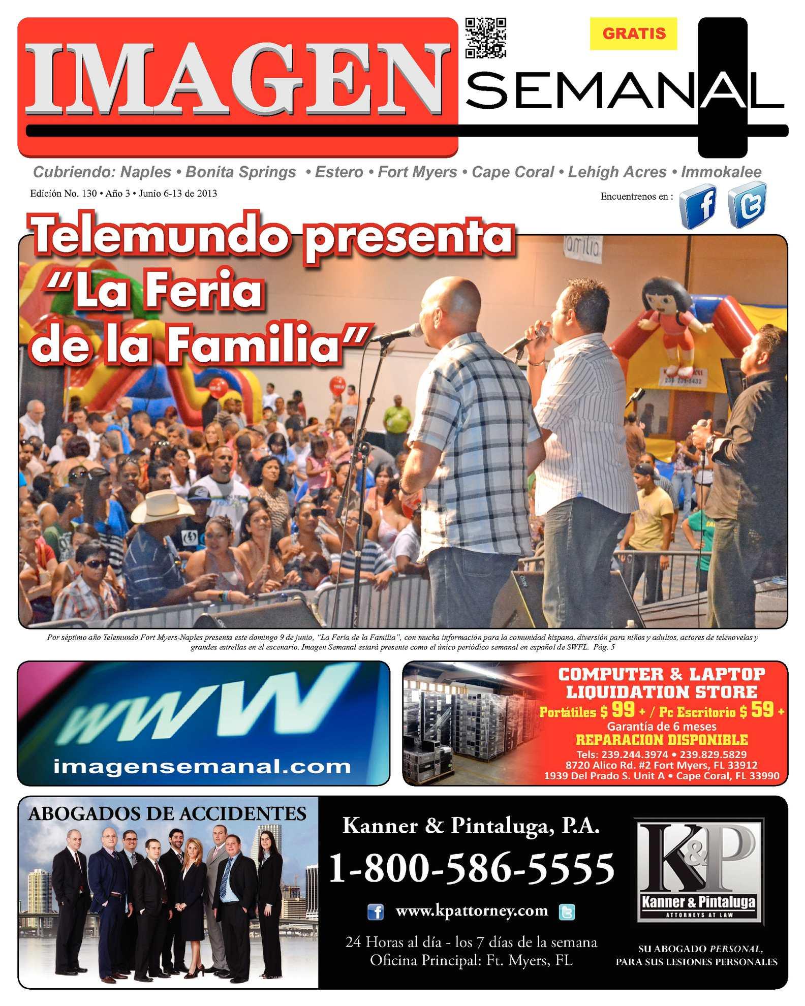 Calaméo - Imagen Semanal Edicion Impresa # 130