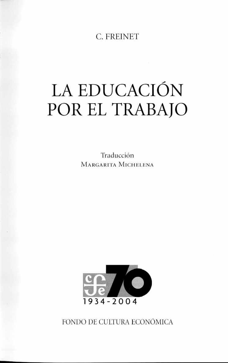 Calaméo - LA EDUCACIÓN POR EL TRABAJO