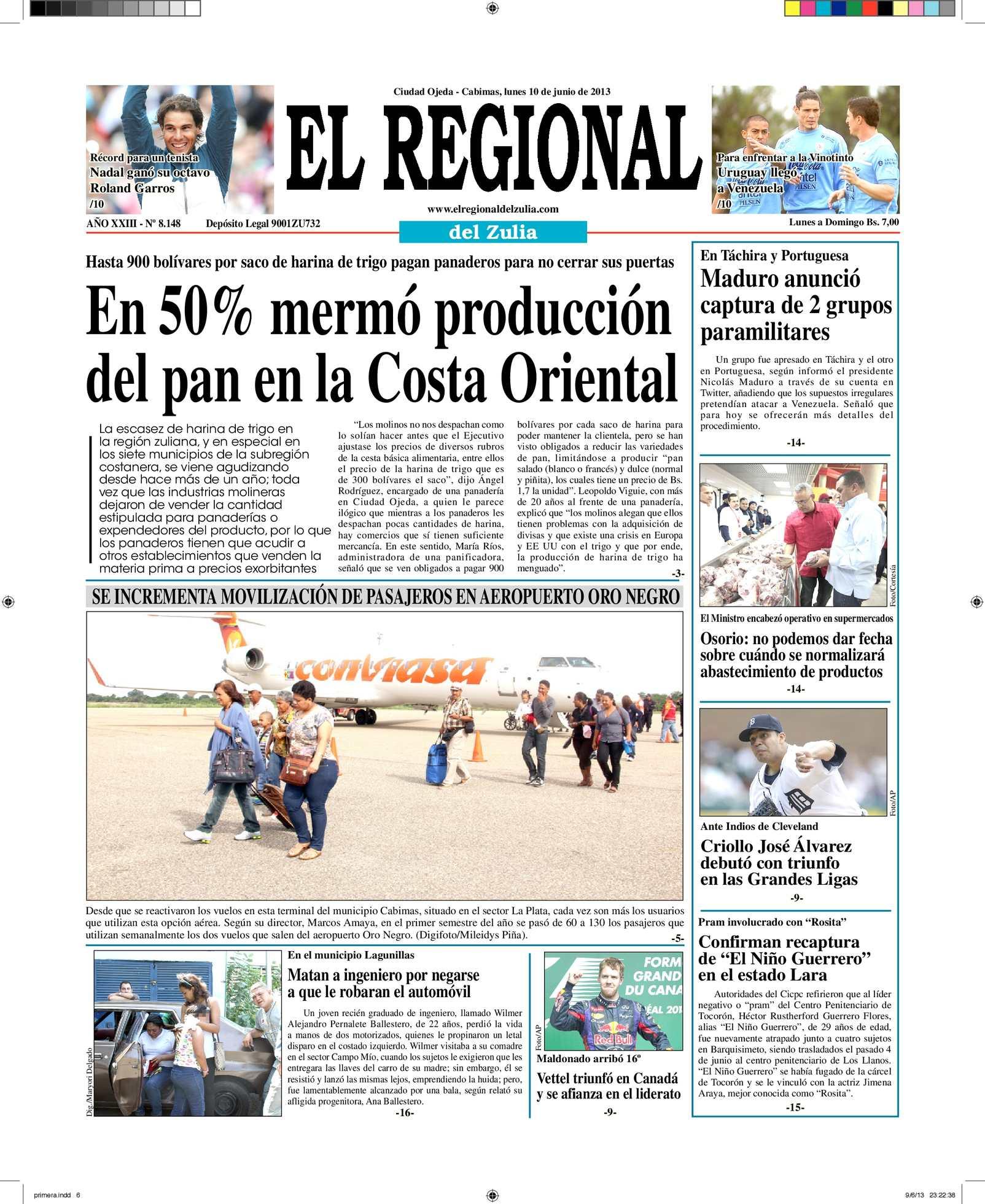 Calaméo - El Regional del Zulia 10-06-2013