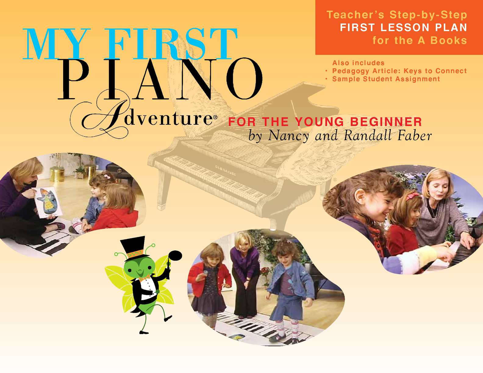 Calam O My First Piano Adventure First Lesson Plan