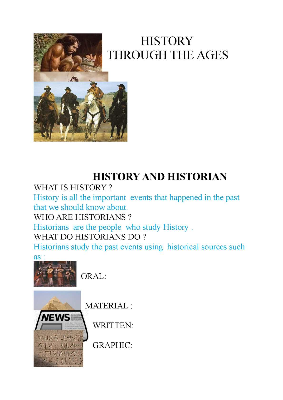 why is it important to study history