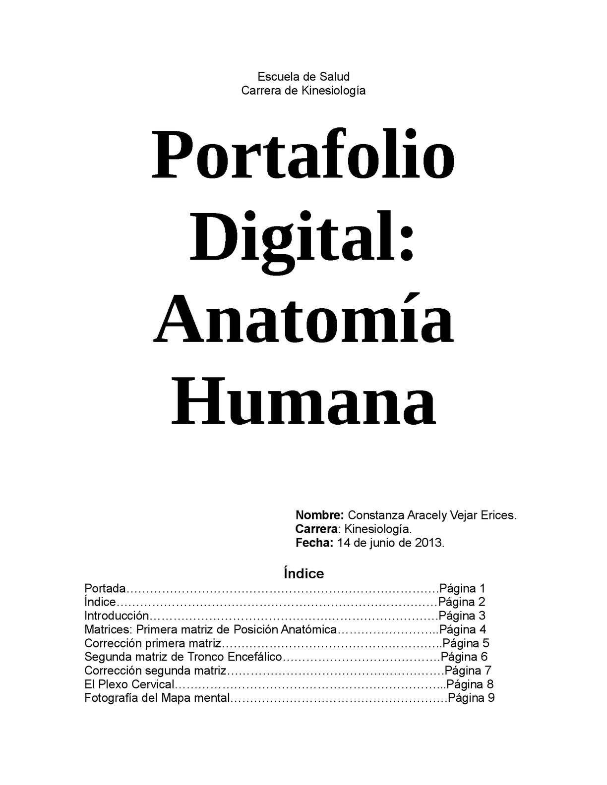 Calaméo - Portafolio Digital Anatomía Humana-Constanza Vejar