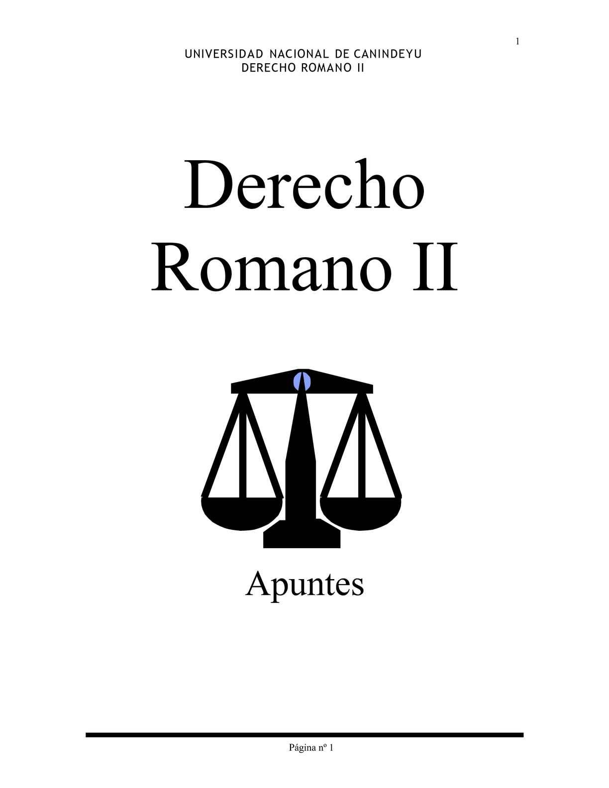 Calaméo - DERECHO ROMANO II