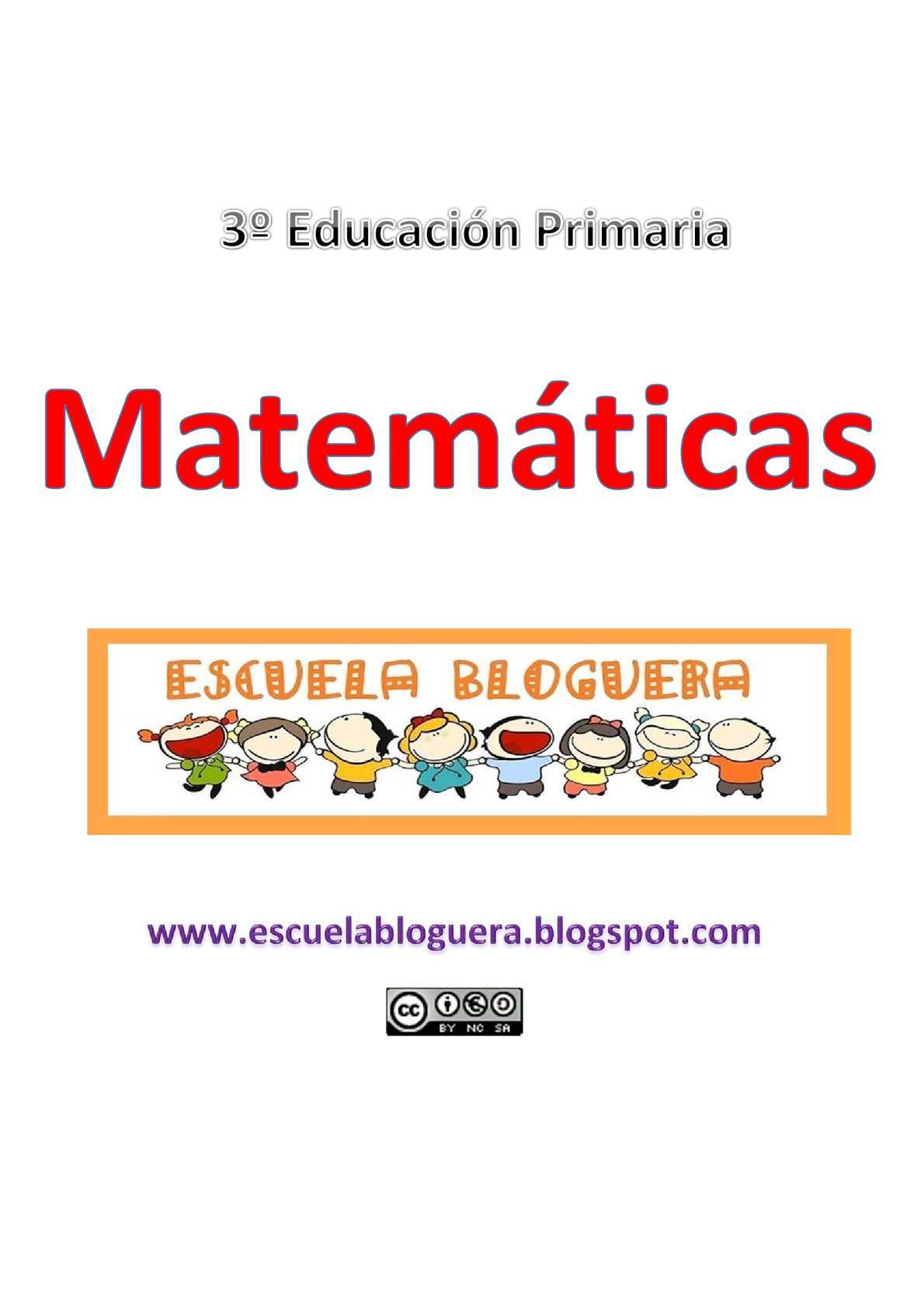 Repaso matemáticas 3º educación primaria