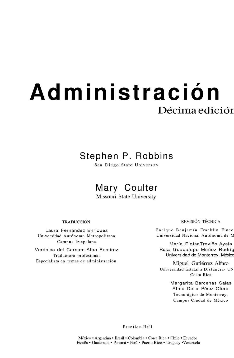 Calaméo - Administración - Stephen Robbins y Mary Coulter