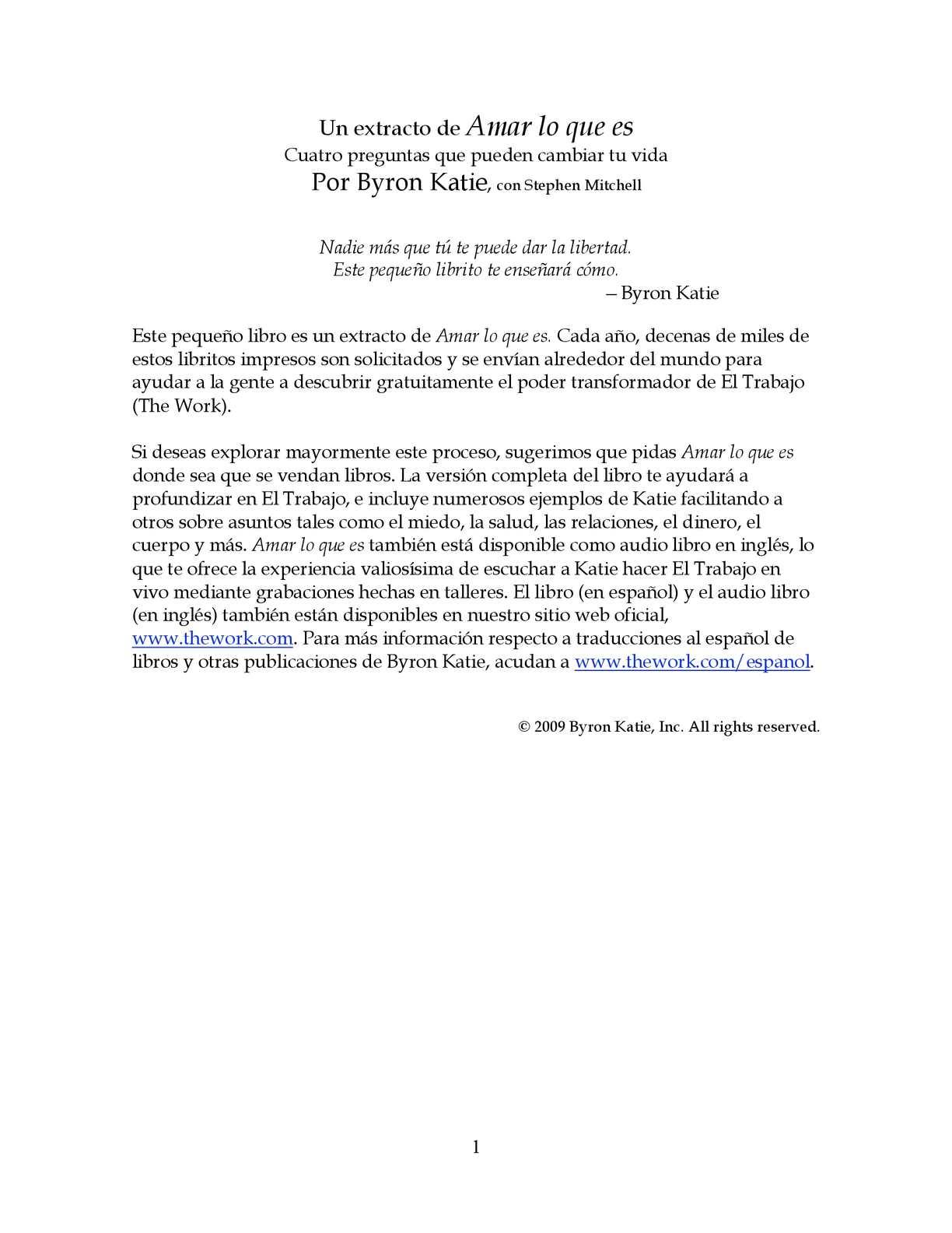 Excepcional Byron Katie 4 Preguntas Hoja De Trabajo Composición ...