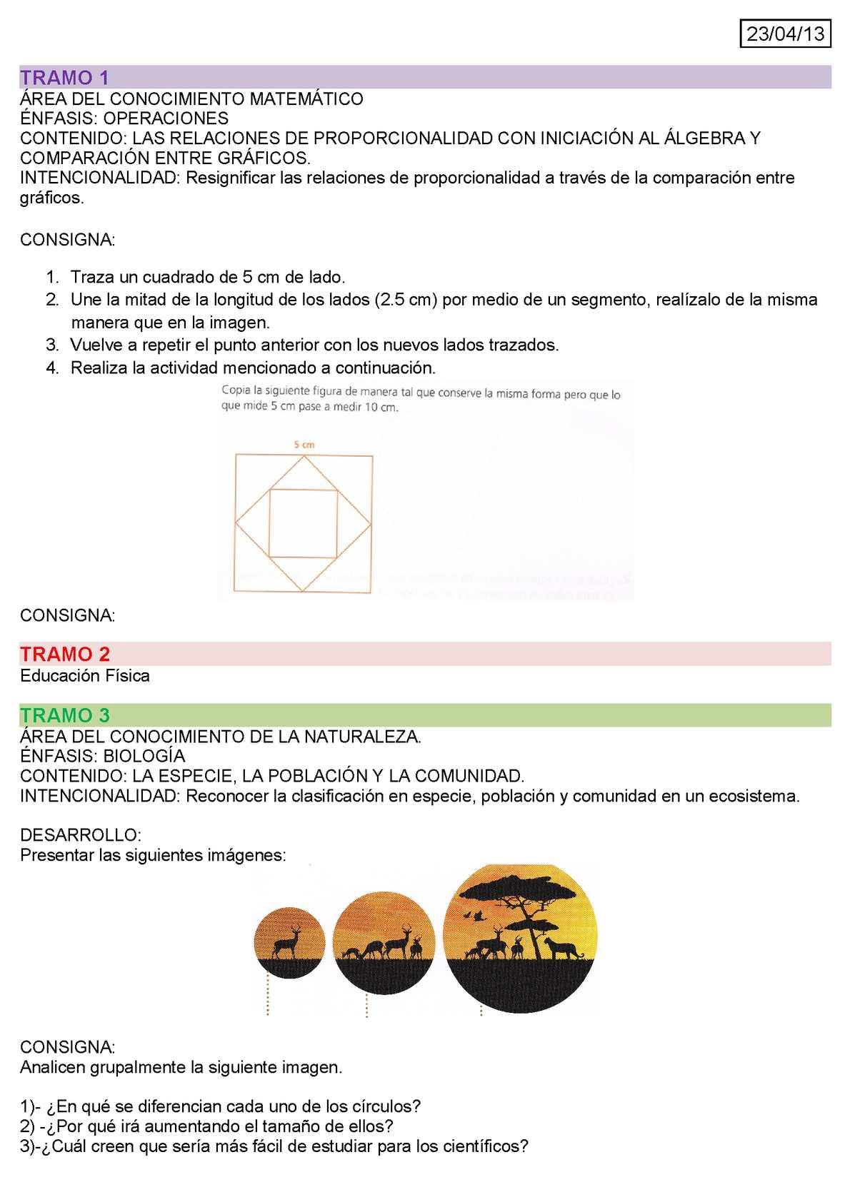 Planificación (Desde 23 de abril hasta 30 de Mayo 2013)