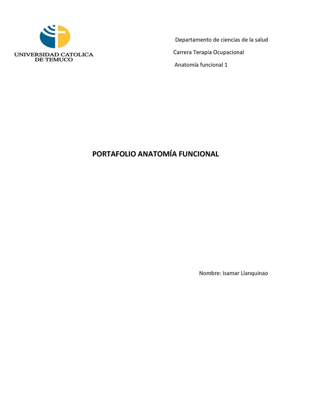 Calaméo - Portafolio Anatomía Funcional