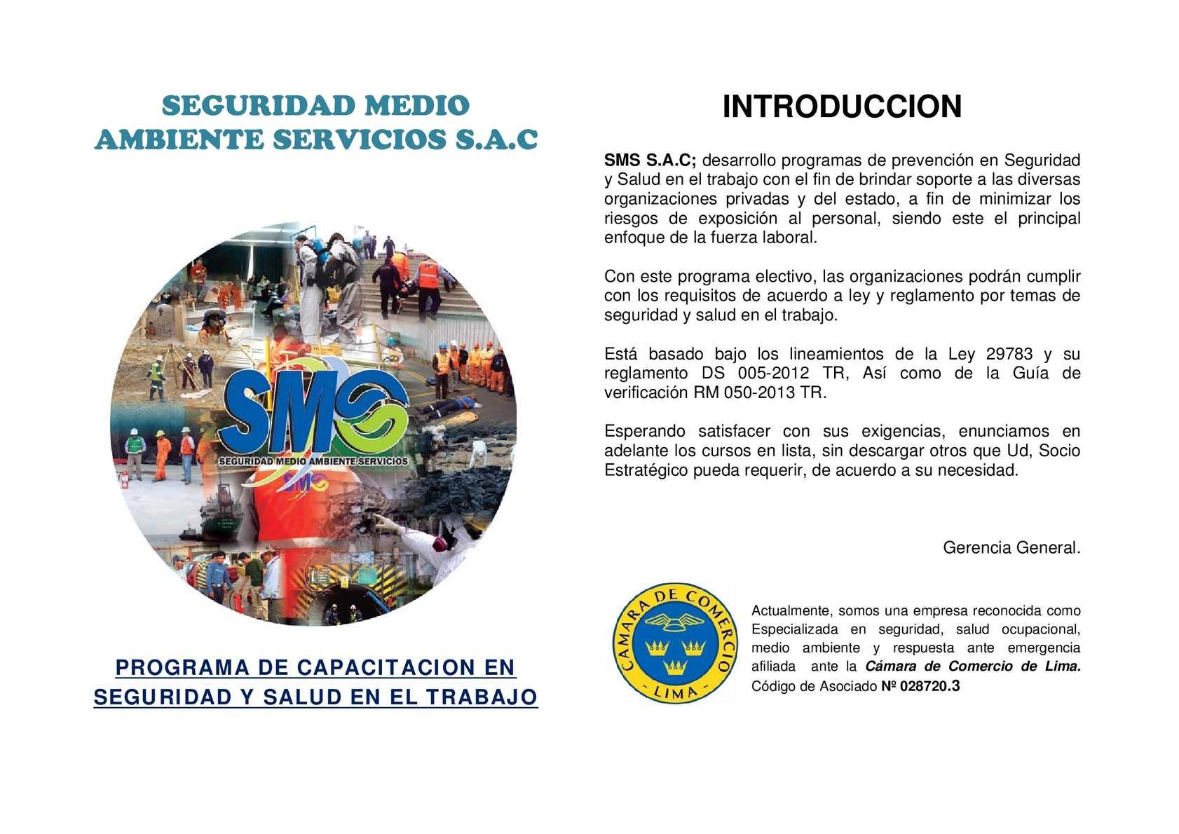 Calaméo - SEGURIDAD MEDIO AMBIENTE SERVICIOS S.A.C.