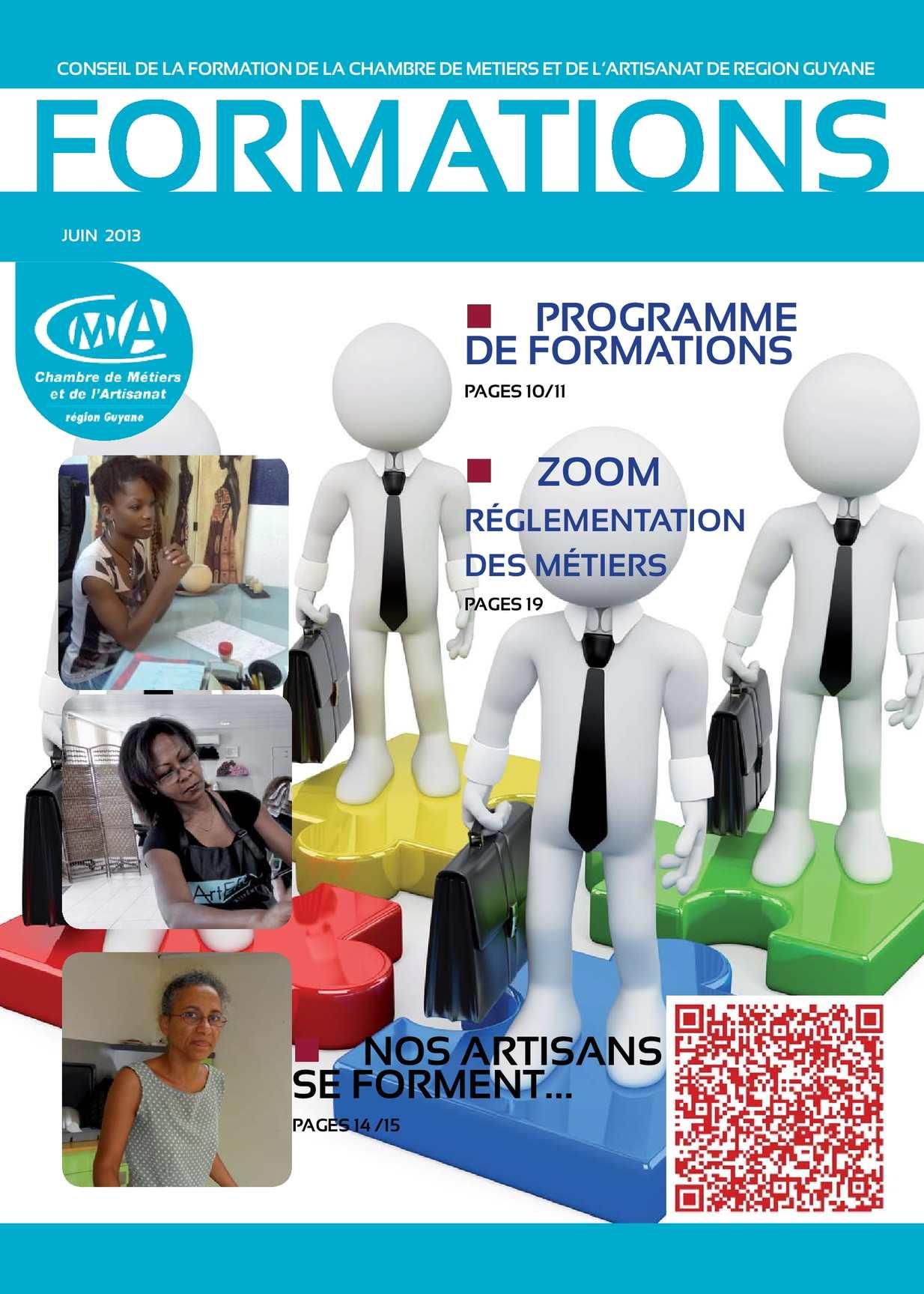 Calam o formation a la une magazine du conseil de la - Chambre des metiers et de l artisanat lille ...