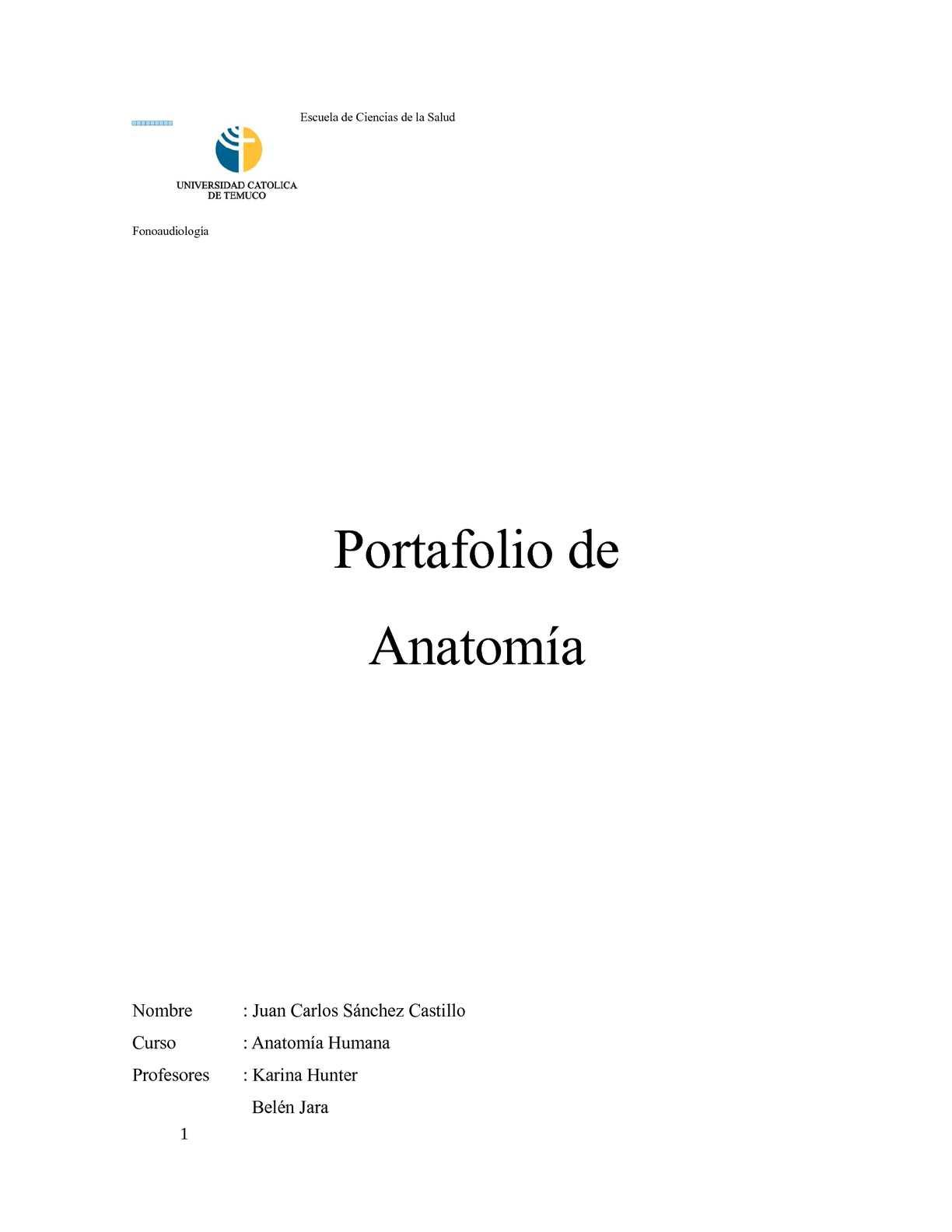 Calaméo - Portafolio Digital Anatomía Humana - Juan Carlos Sánchez ...