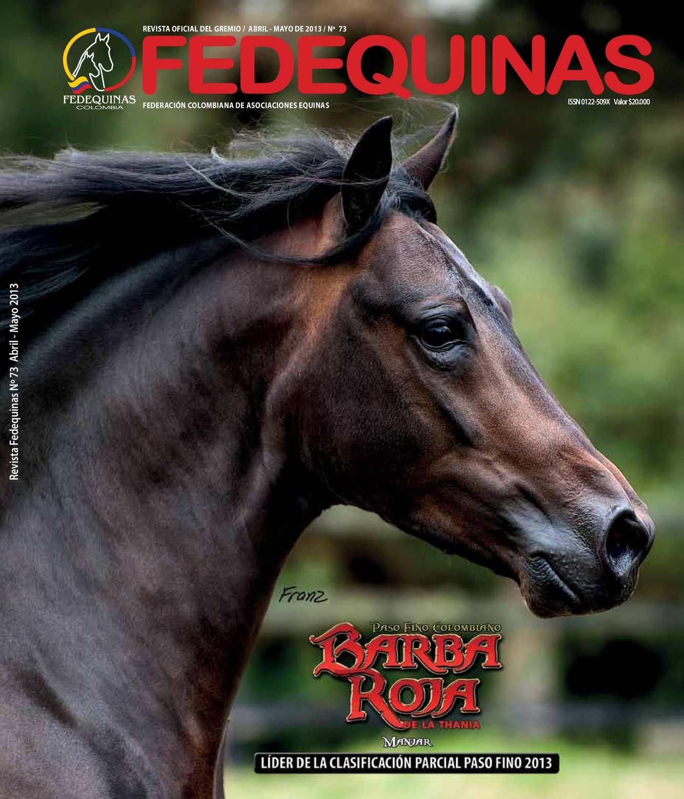 Revista Fedequinas N°73