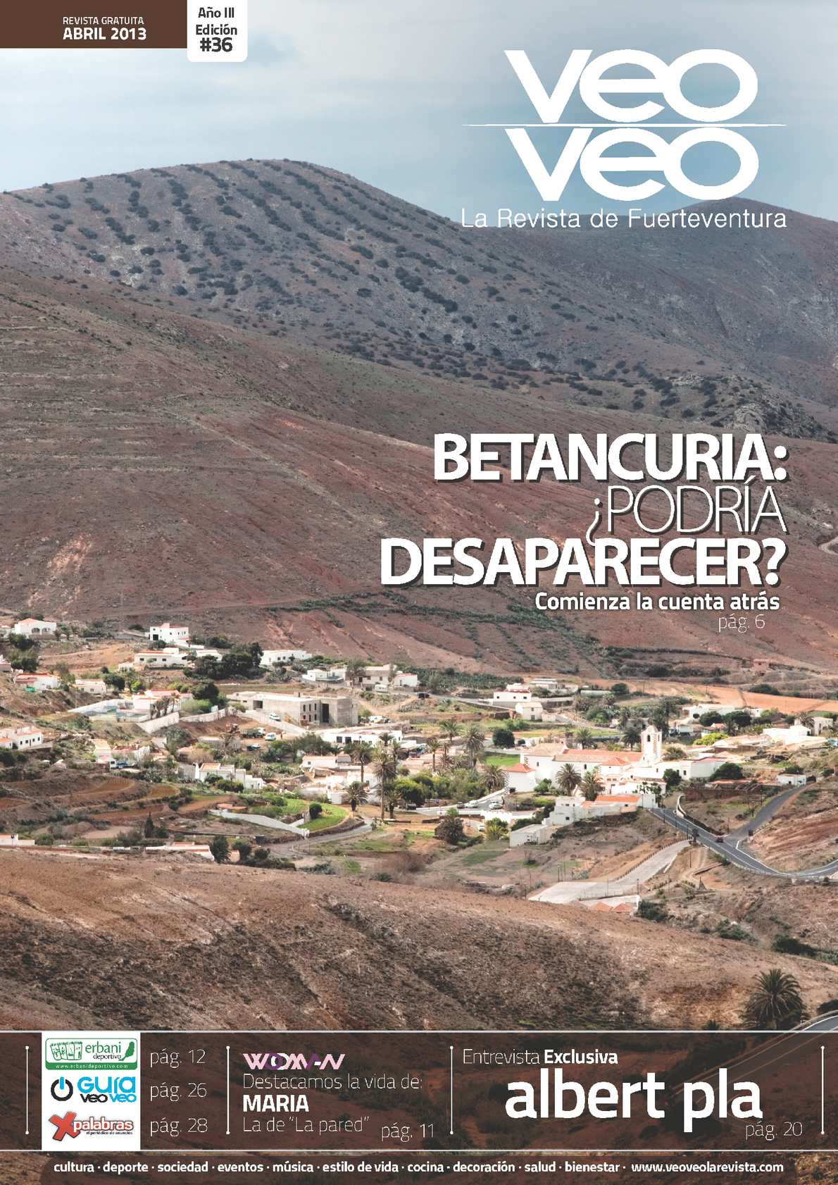 Calaméo - VeoVeo, la revista de Fuerteventura #36 - Abril 2013