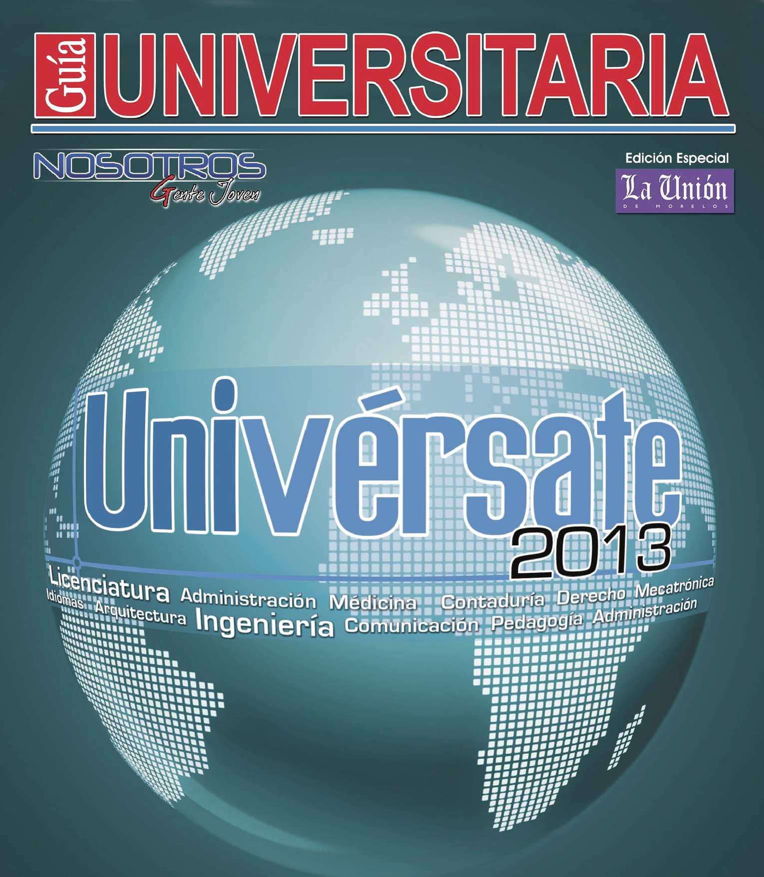 Calaméo - Nosotros Guia Universitaria 2013