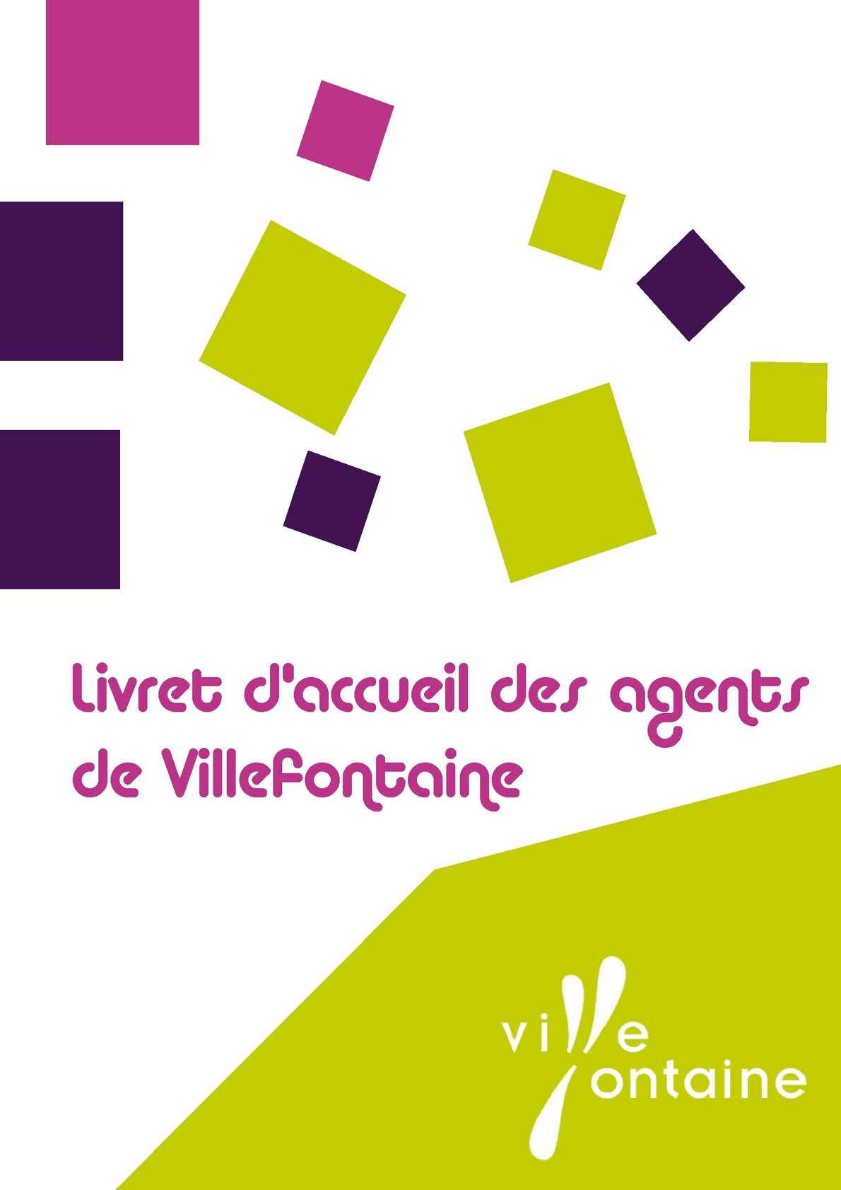 Livret d'accueil des agents de Villefontaine
