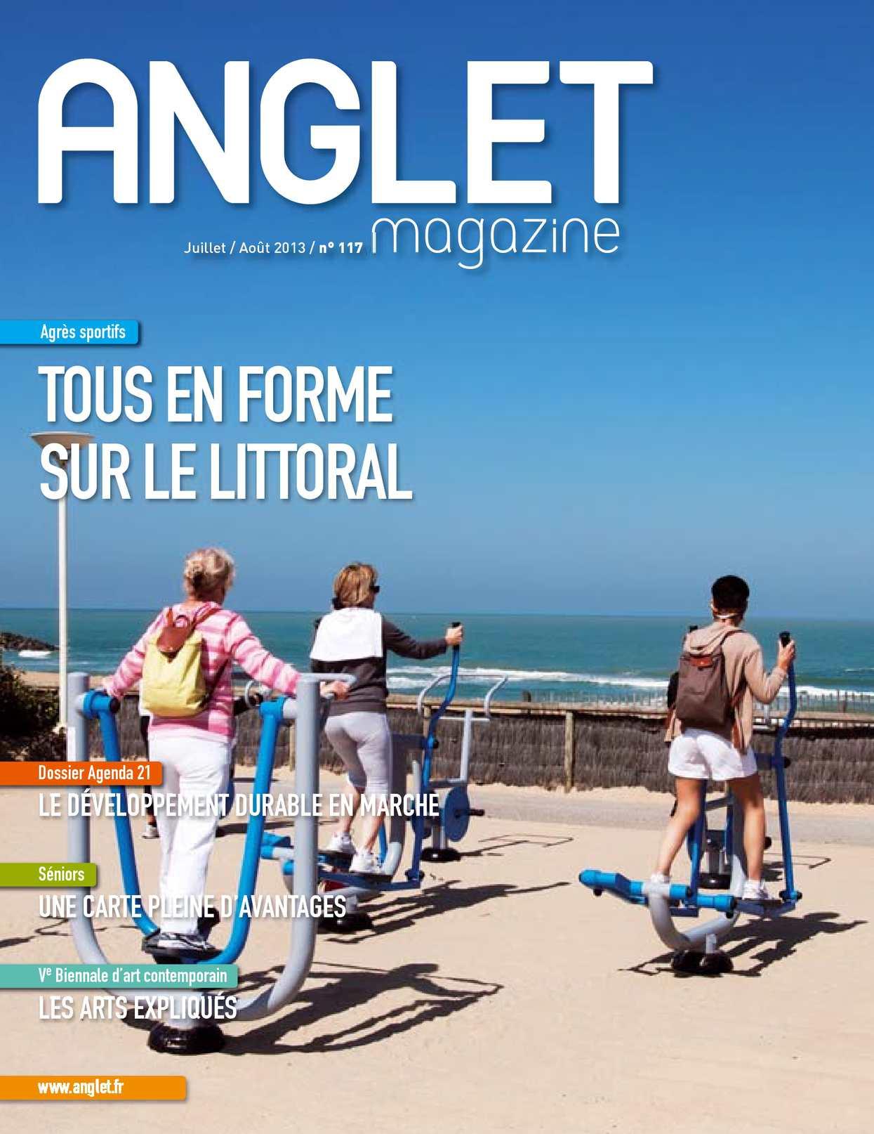 Calaméo Anglet Magazine 117 JUILLET ao t 2013