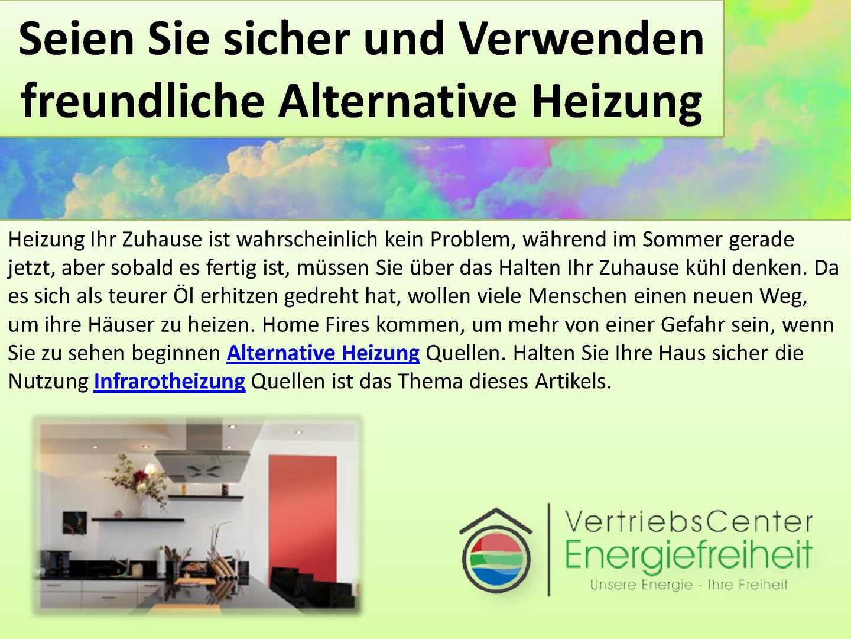 alternative heizung cheap herzlich willkommen with. Black Bedroom Furniture Sets. Home Design Ideas