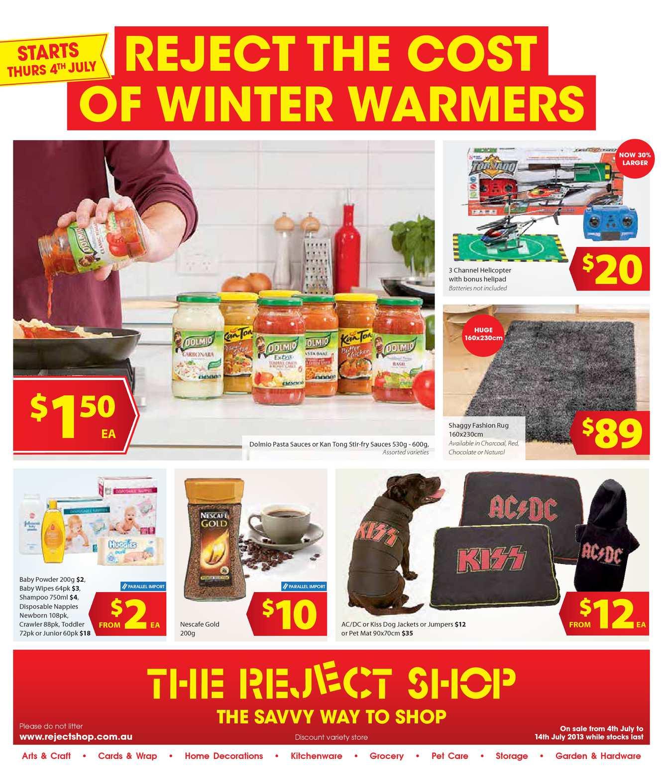 Calam 233 O The Reject Shop