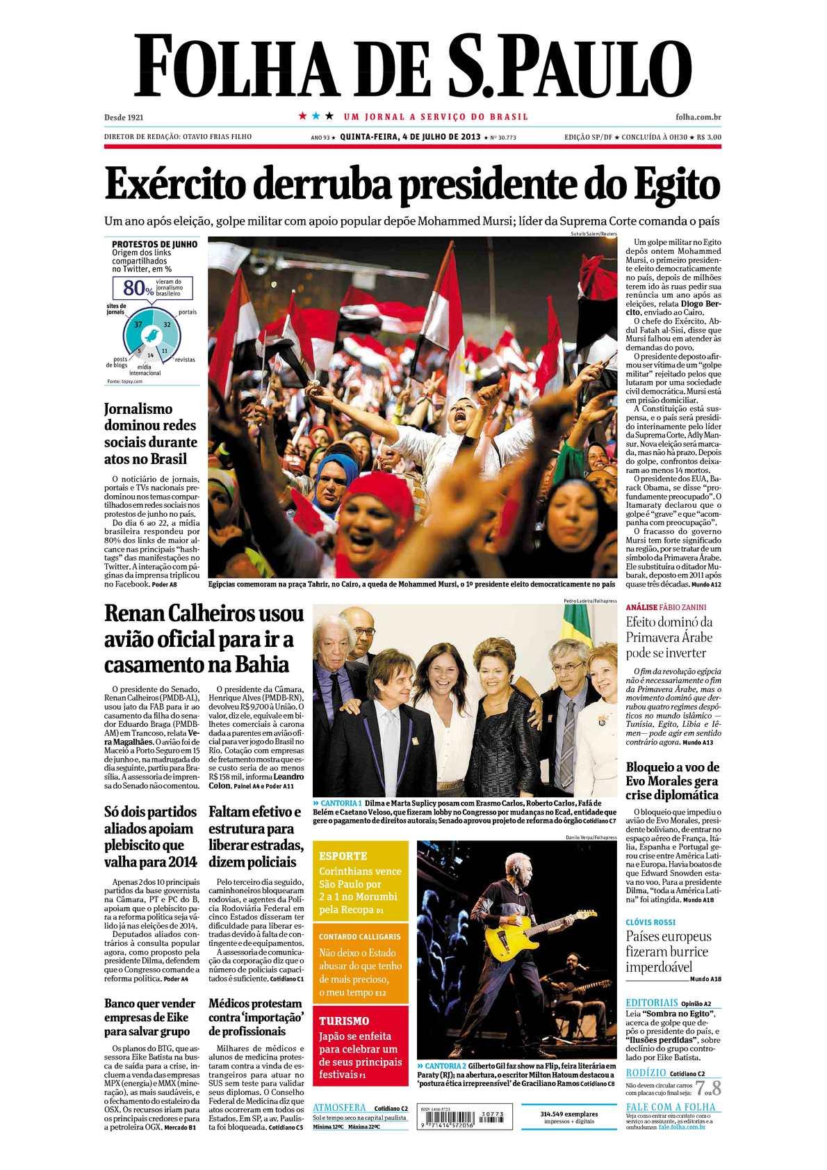 c883d79f17678 Calaméo - Folha de São Paulo 04-07-13