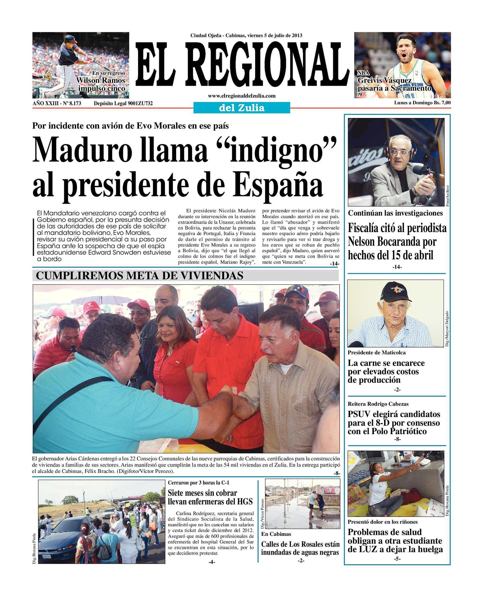 Calaméo - El Regional del Zulia 05-07-2013