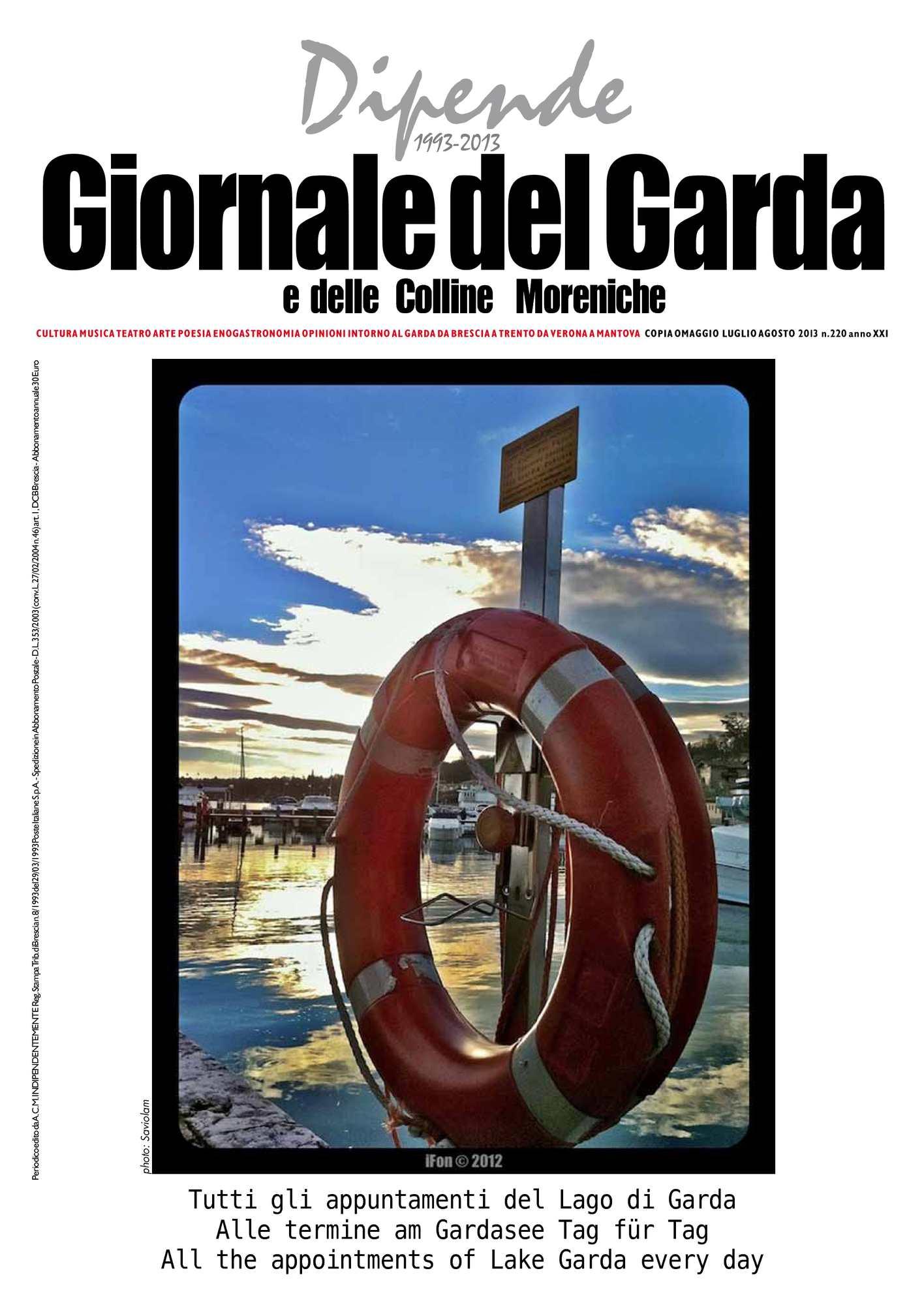 Calaméo - Dipende - Giornale del Garda n.220 estate 2013 20e3342cb61