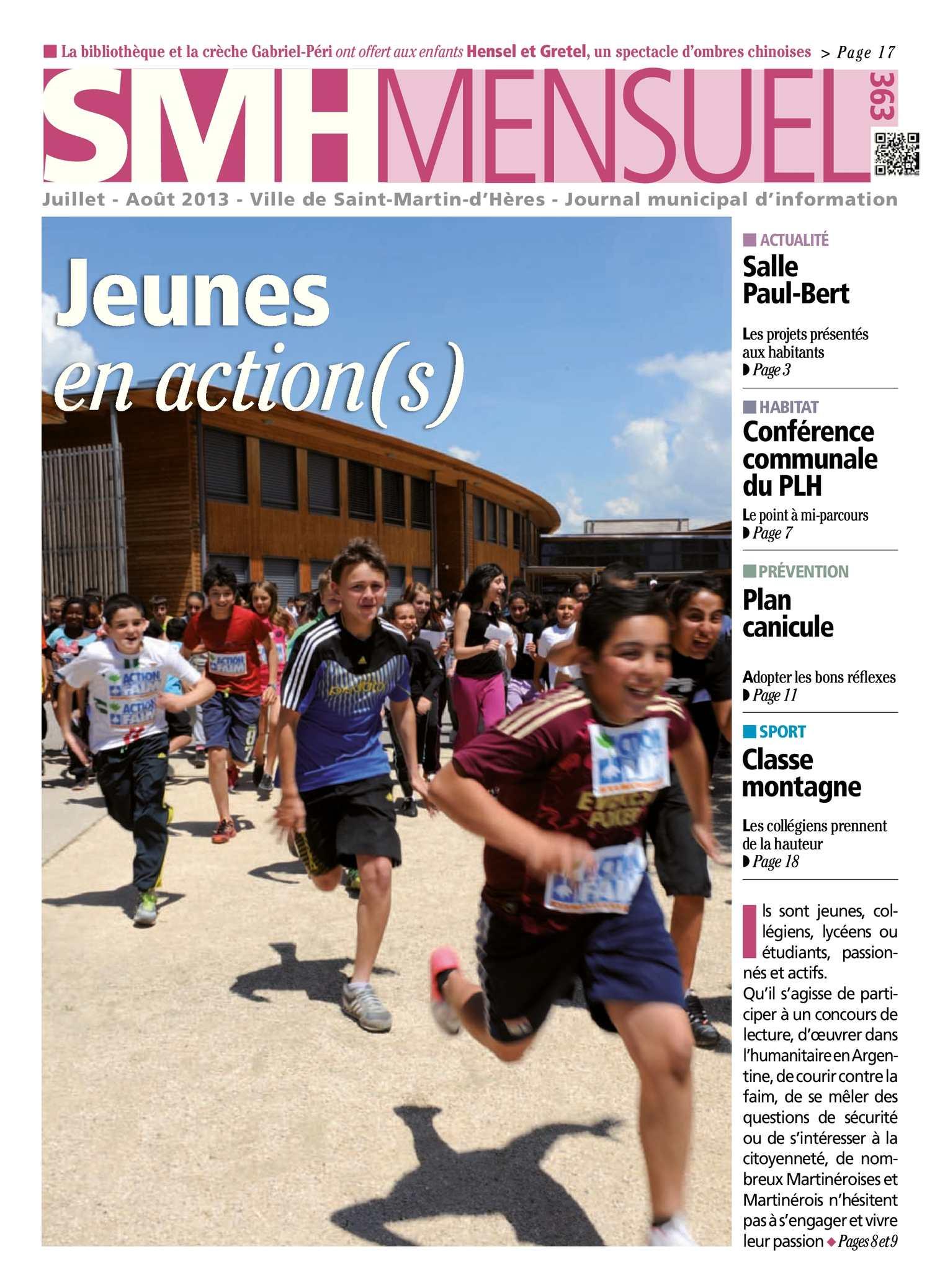 Calaméo - SMH Mensuel De Juillet Août 2013